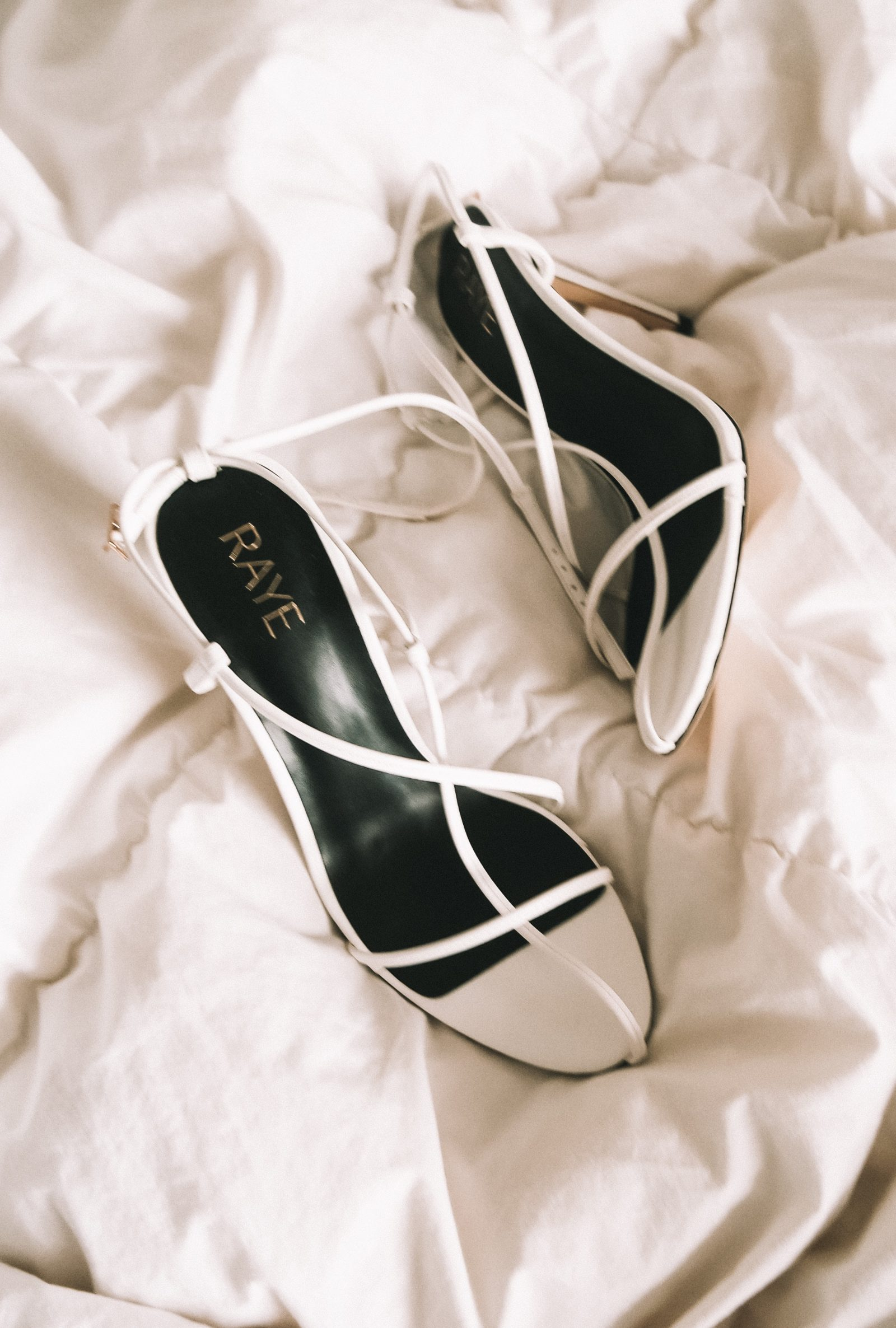 Revolve Cage Shoes - White - Fashion Blogger Sinead Crowe