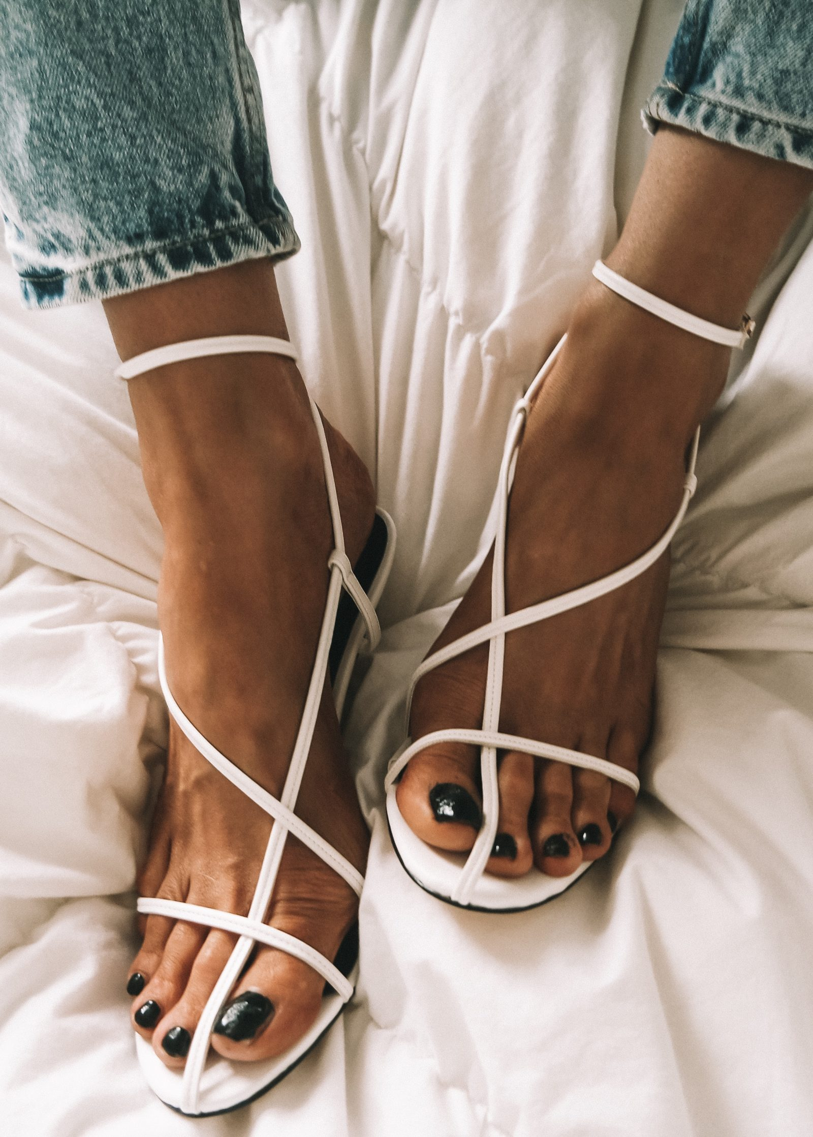 Revolve Raye Cage Shoes - Fashion Blogger Sinead Crowe