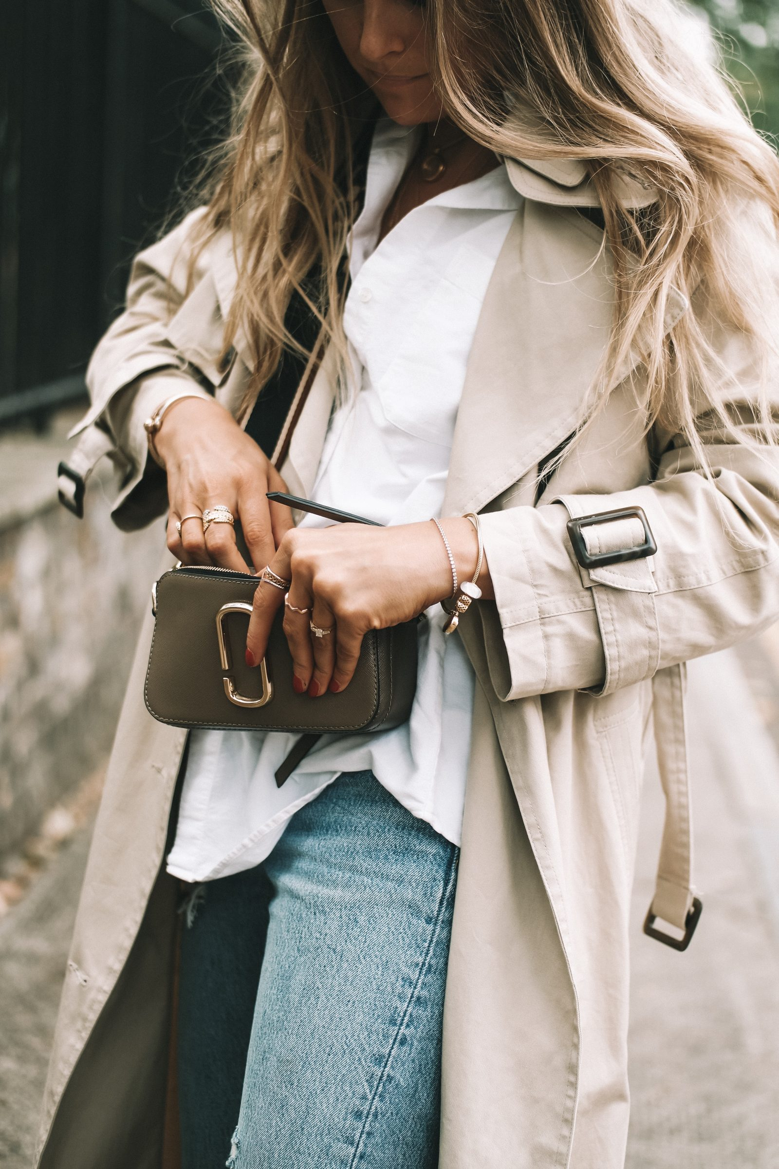 LFW Street Style - Classic Trench Coat