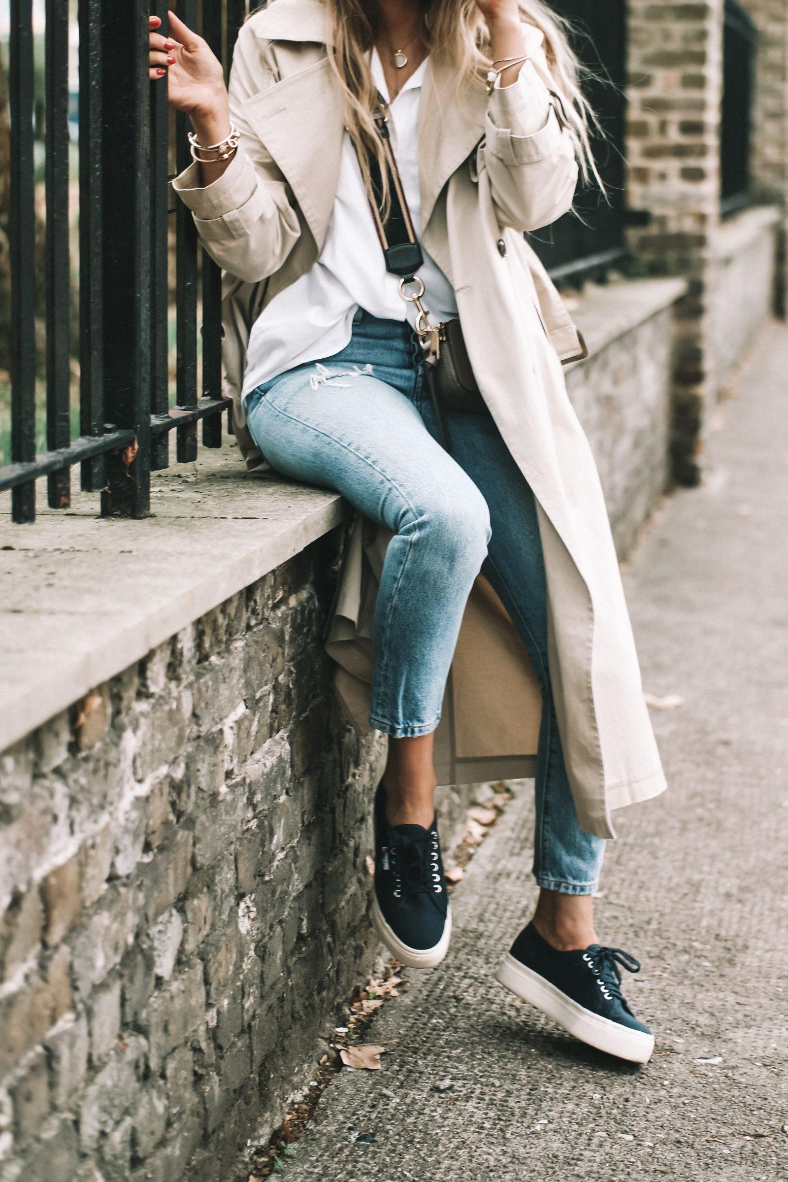 LFW Street Style - Levis Skinny Jeans