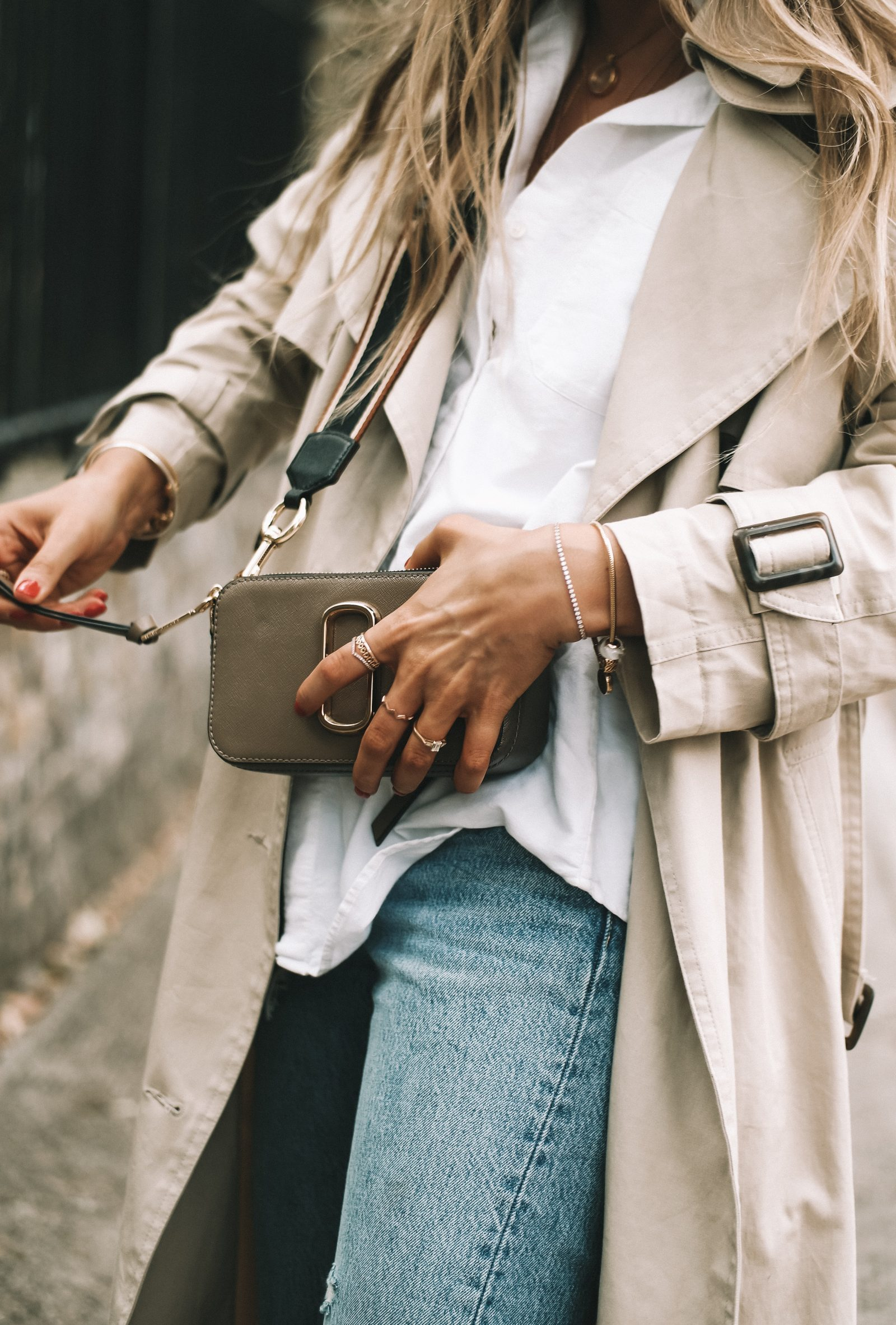 LFW Street Style - Marc Jacobs Camera Bag