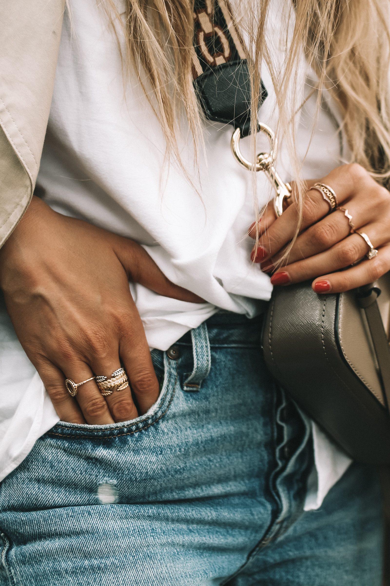 LFW Street Style - Pandora Ring Stack