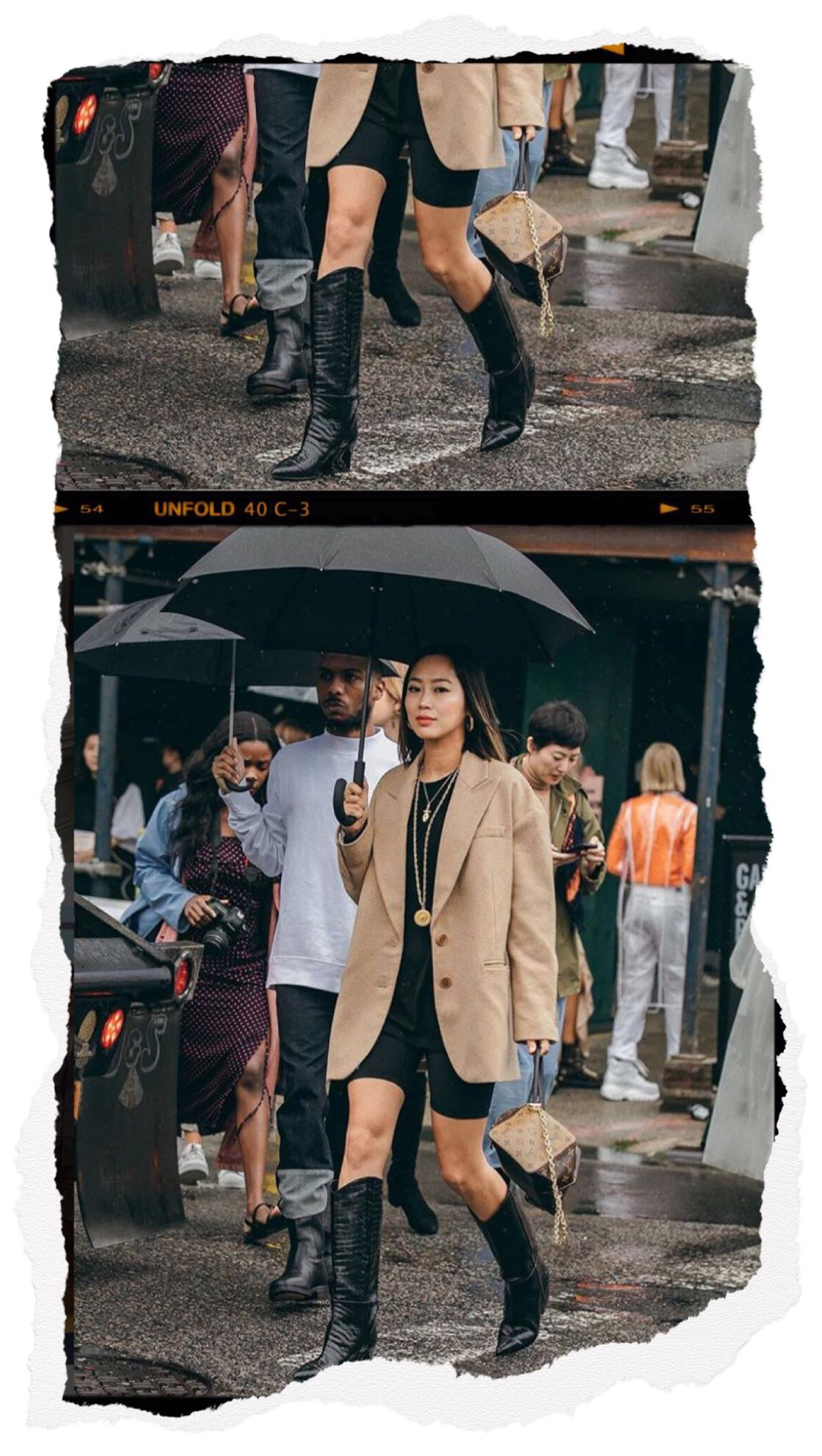 NFW Street Style - Aimee Song wearing Cowboy Boots