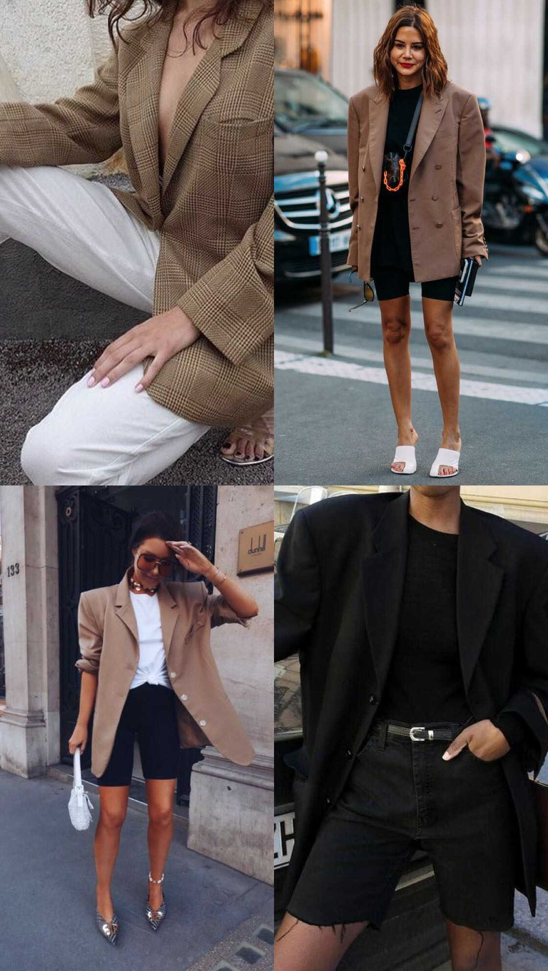 WORKWEAR OUTFIT IDEAS - OVERSIZED BLAZERS