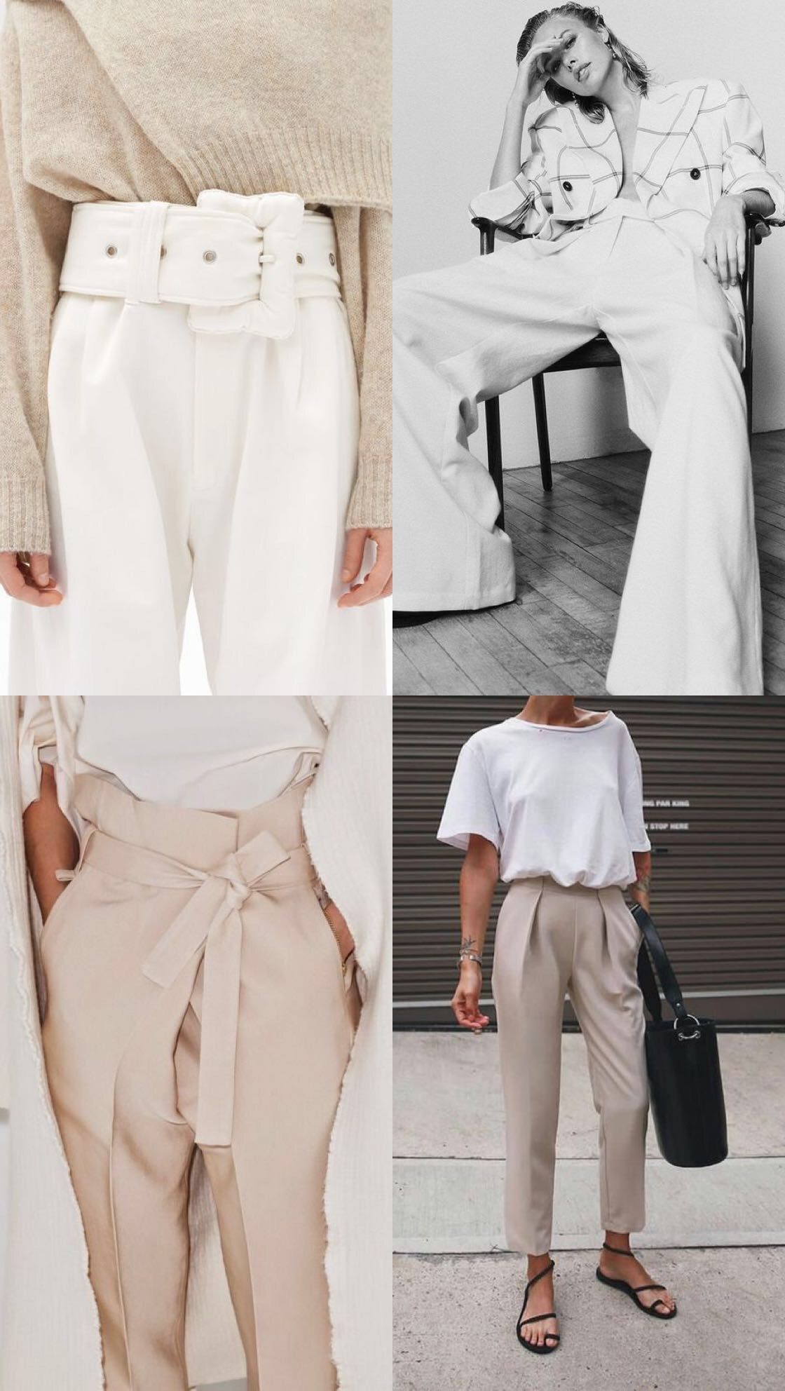 WORKWEAR OUTFIT IDEAS - TAILORED TROUSERS