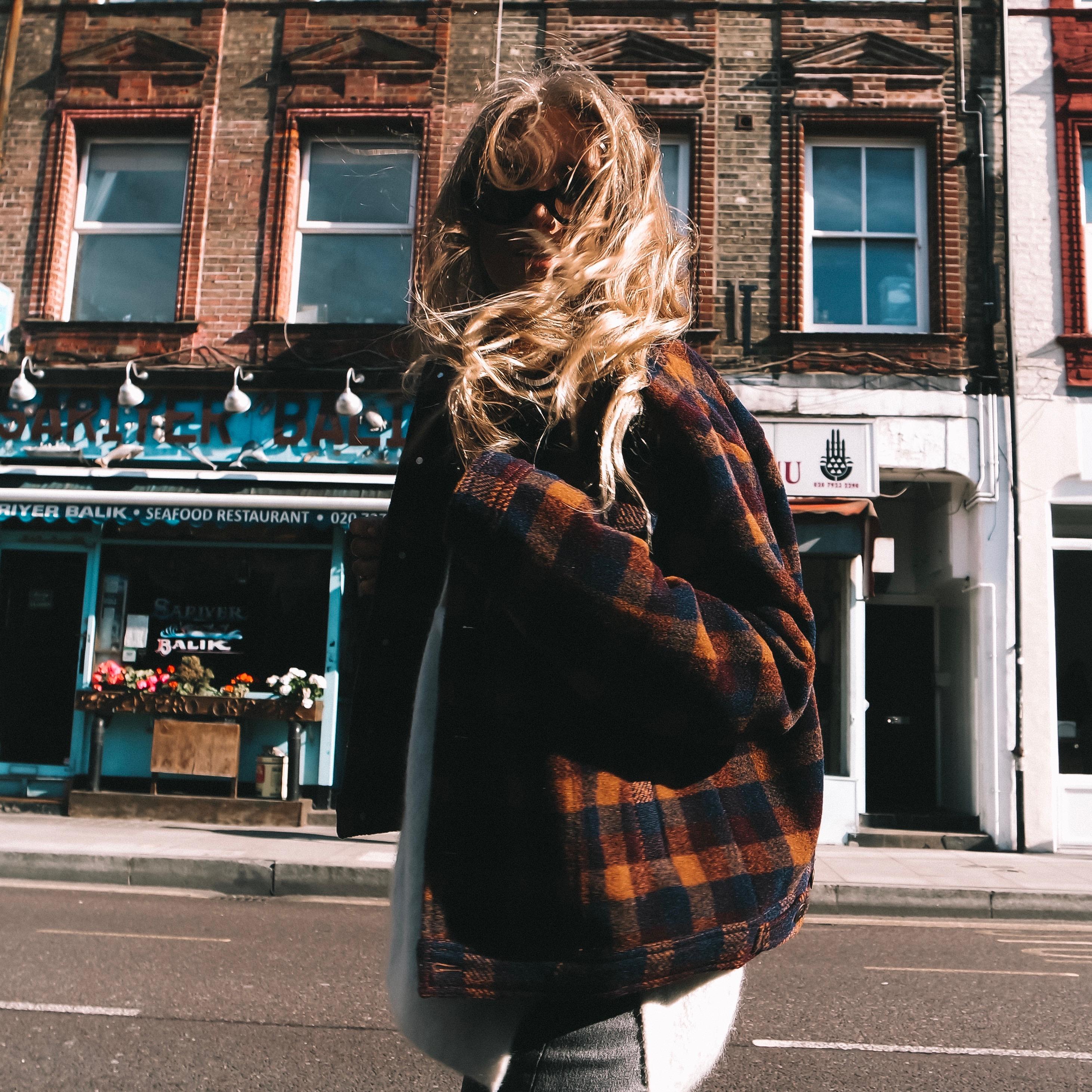 Revolve Tularosa Checked Coats - Autumn Street Style