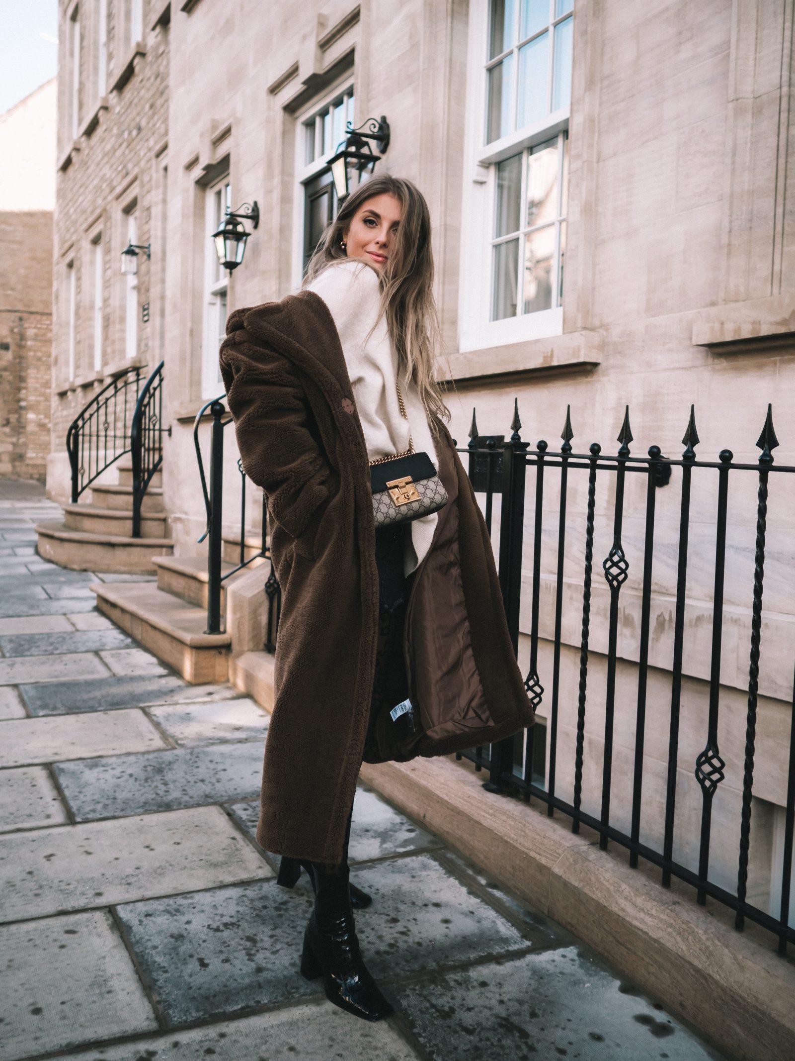 Warmest Coat - Maxi Fur Coat - Sinead Crowe Autumn Street Style
