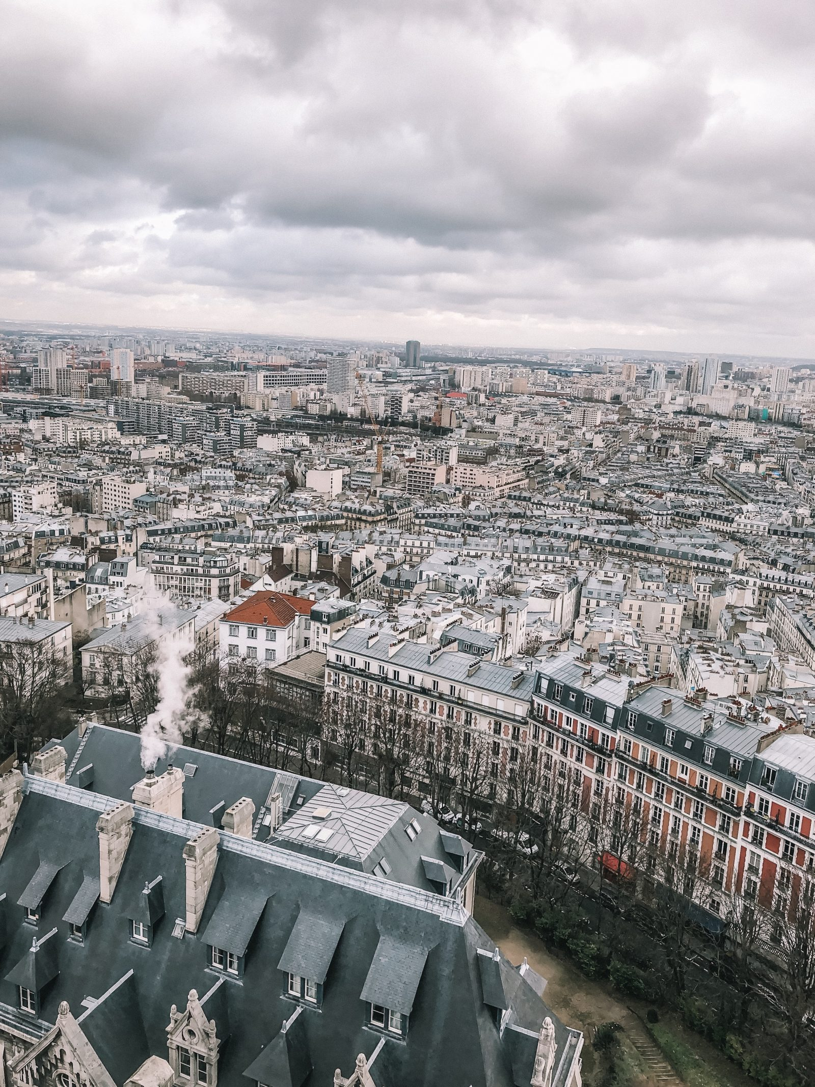Paris City Guide - Monmarte From Above