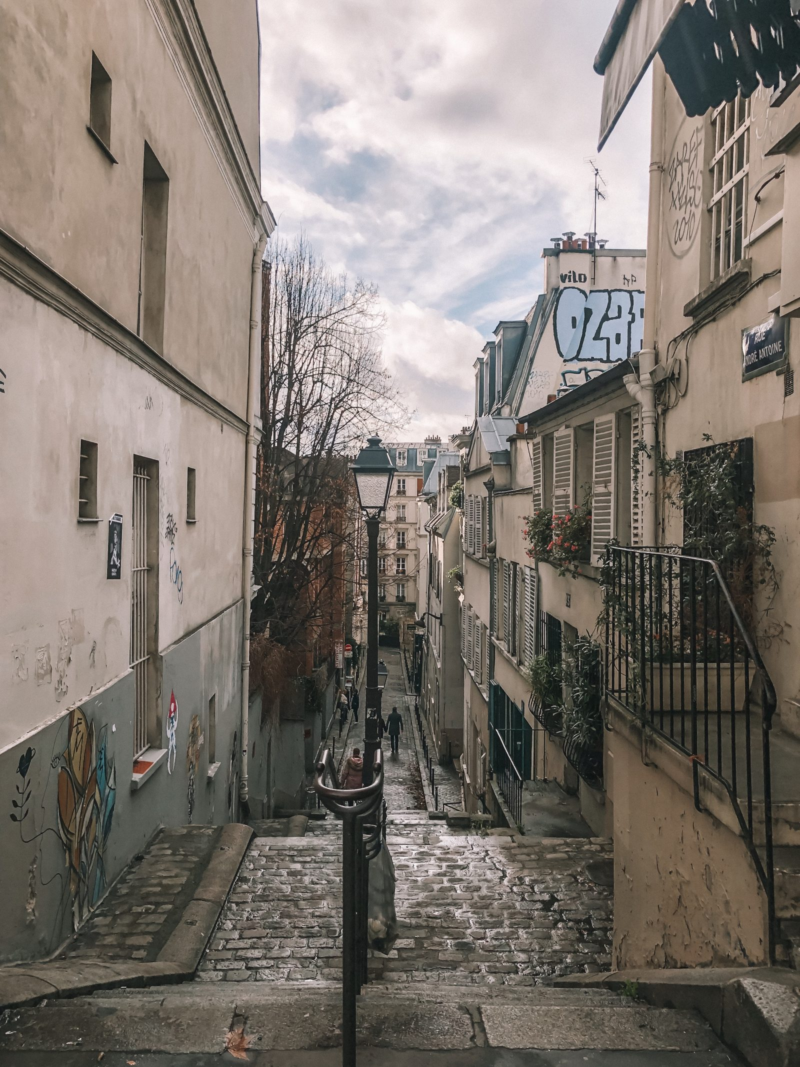 Paris City Guide - Monmarte Streets