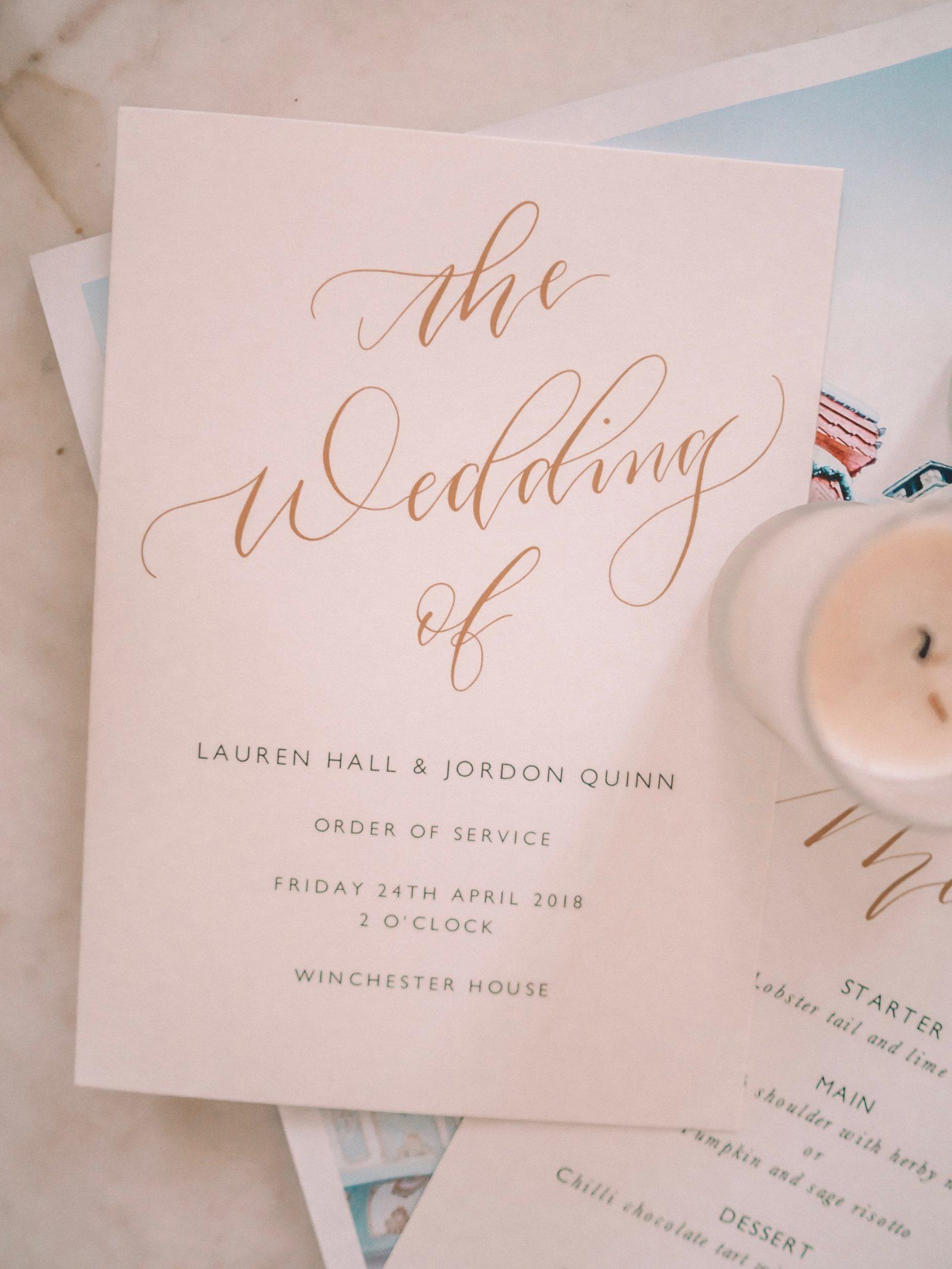 Papier Wedding Stationary Ideas