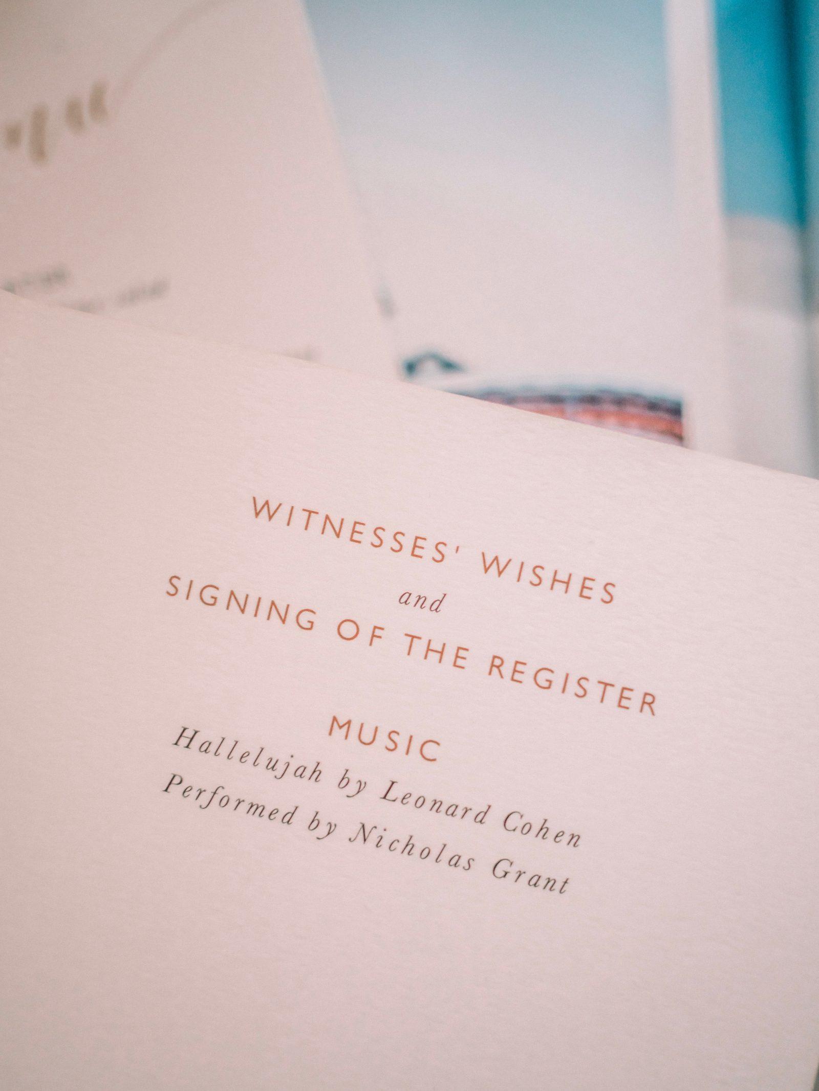 Wedding Stationary - Papier