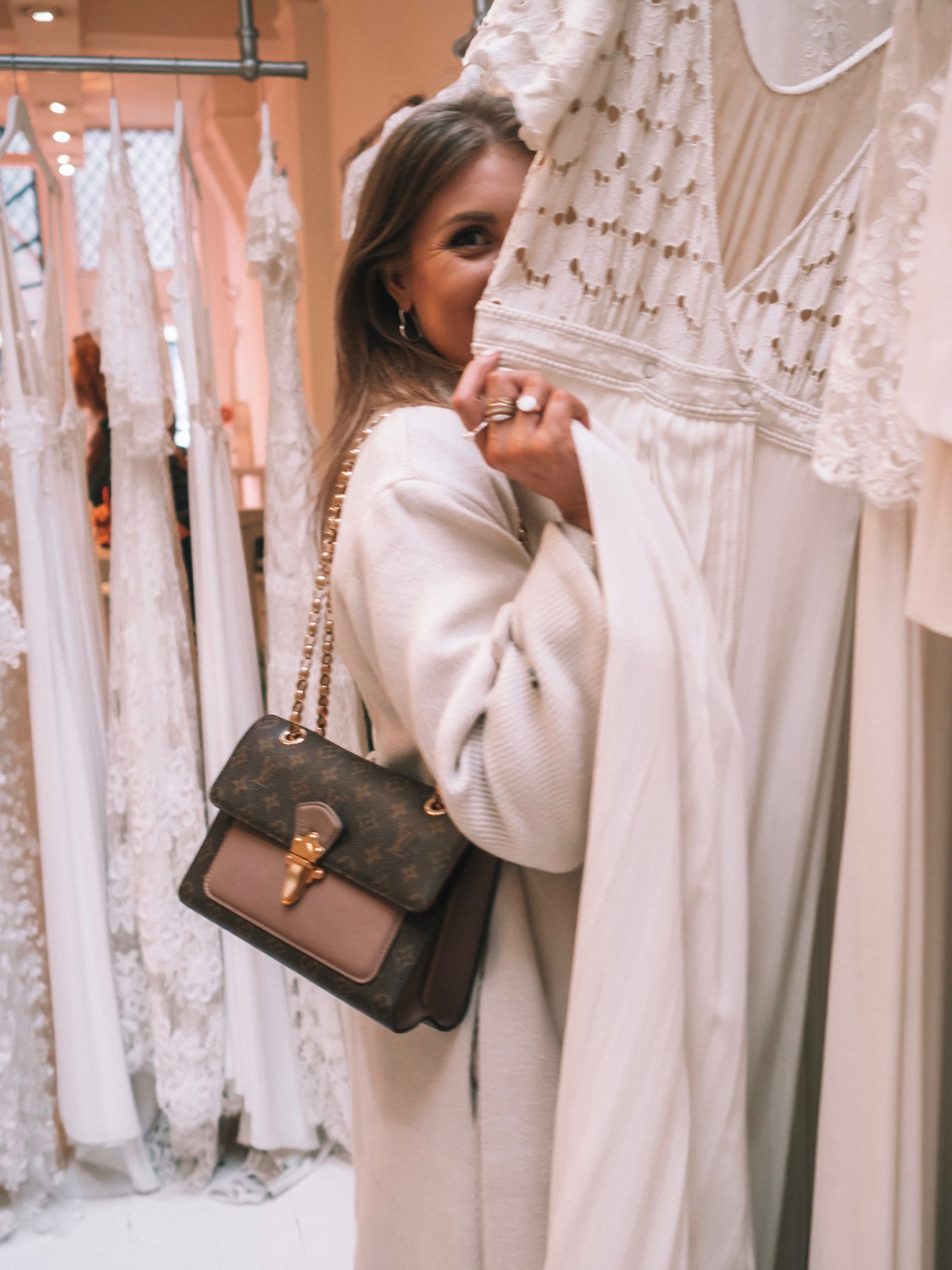 The Mews Bridal Notting Hill - Louis Vuitton Victoire