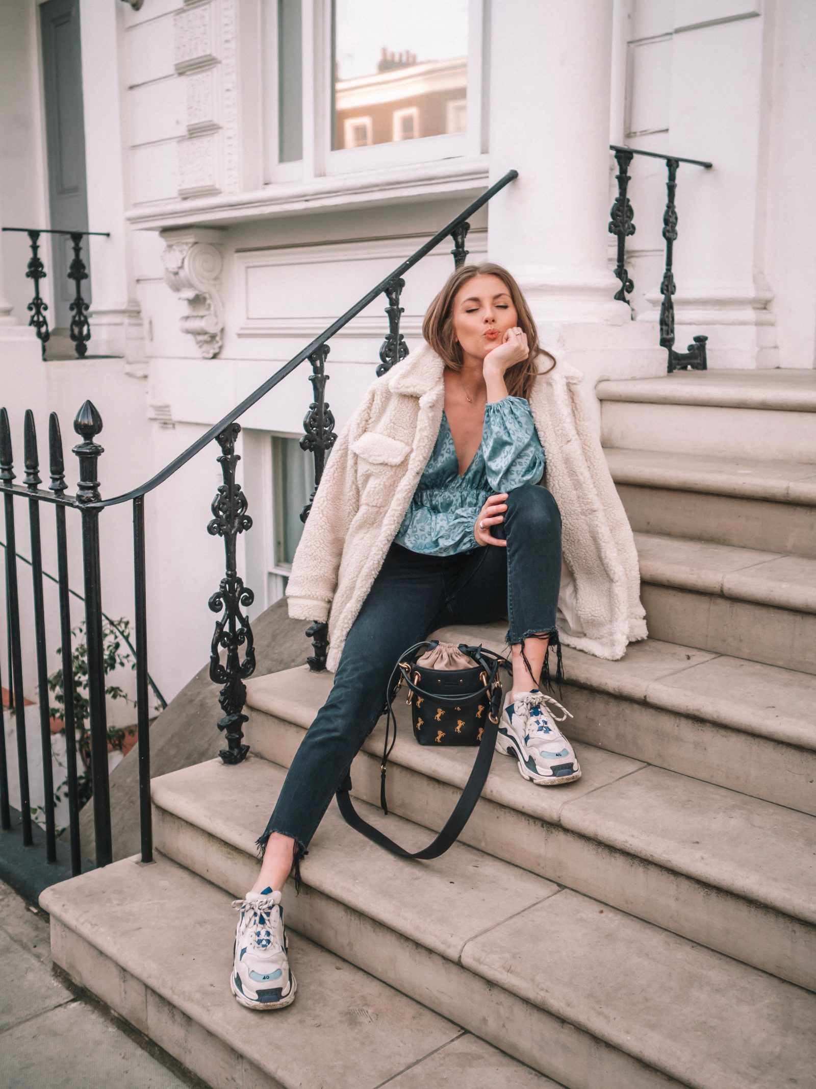 House of Harlow - GRLFRND Distressed jeans