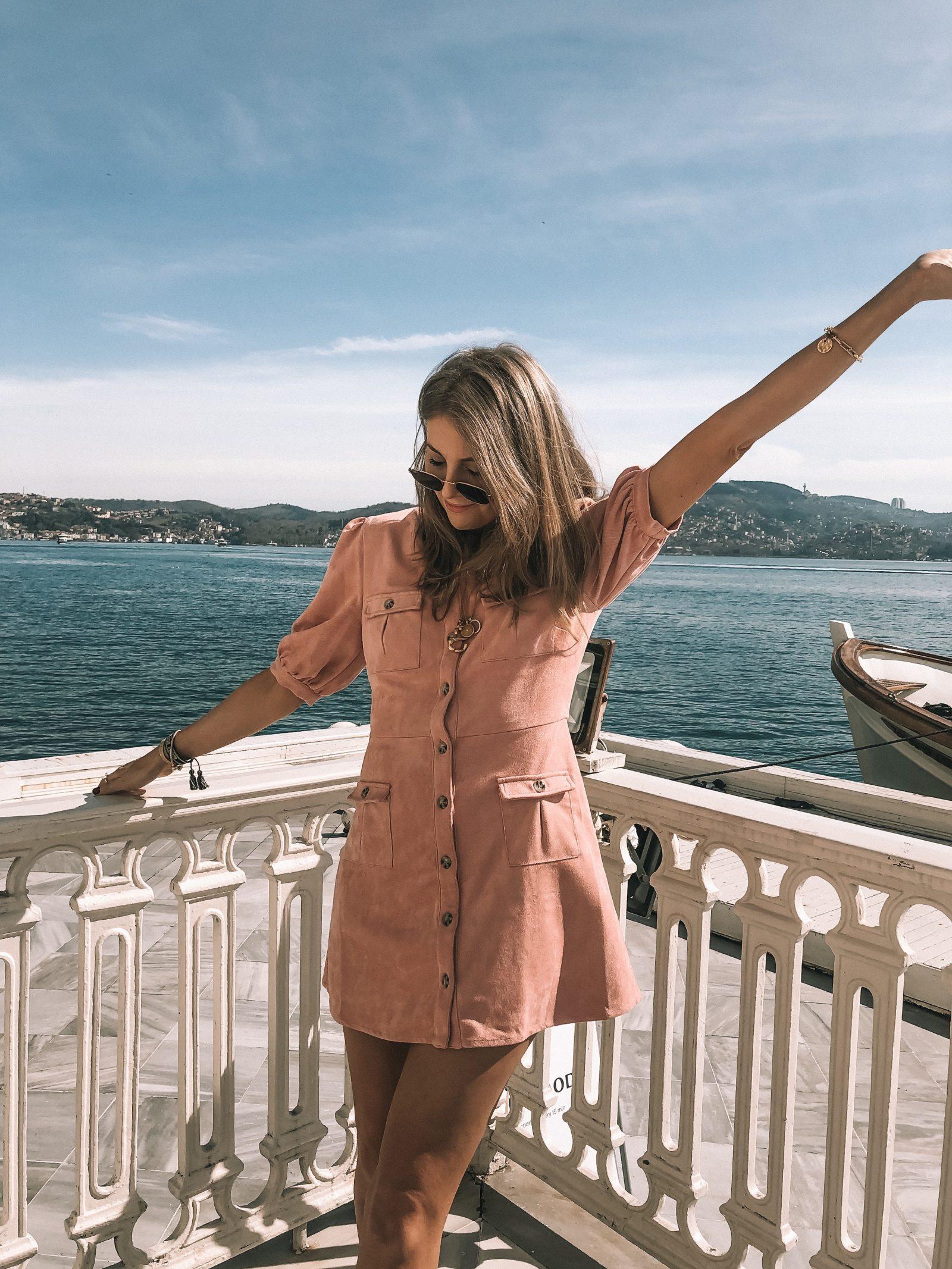 Little Pink Dress - Majorelle Pink Dress