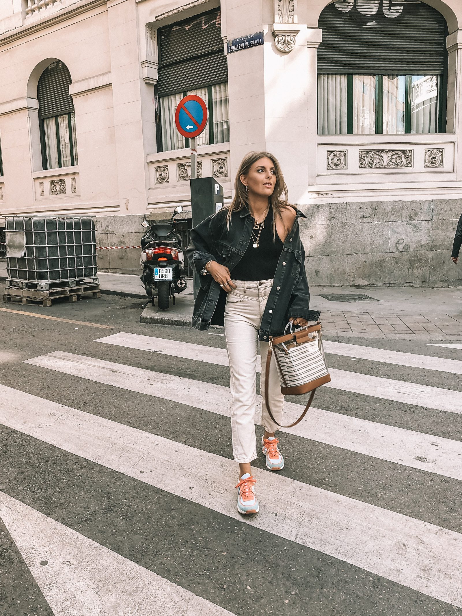 Madrid Outfit Diaries - Accessorize Clear Bag