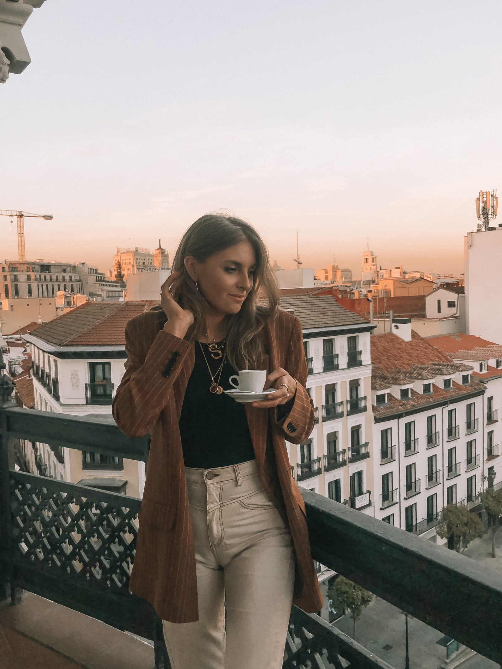 Madrid Outfit Diaries - Oversized Asos Blazer