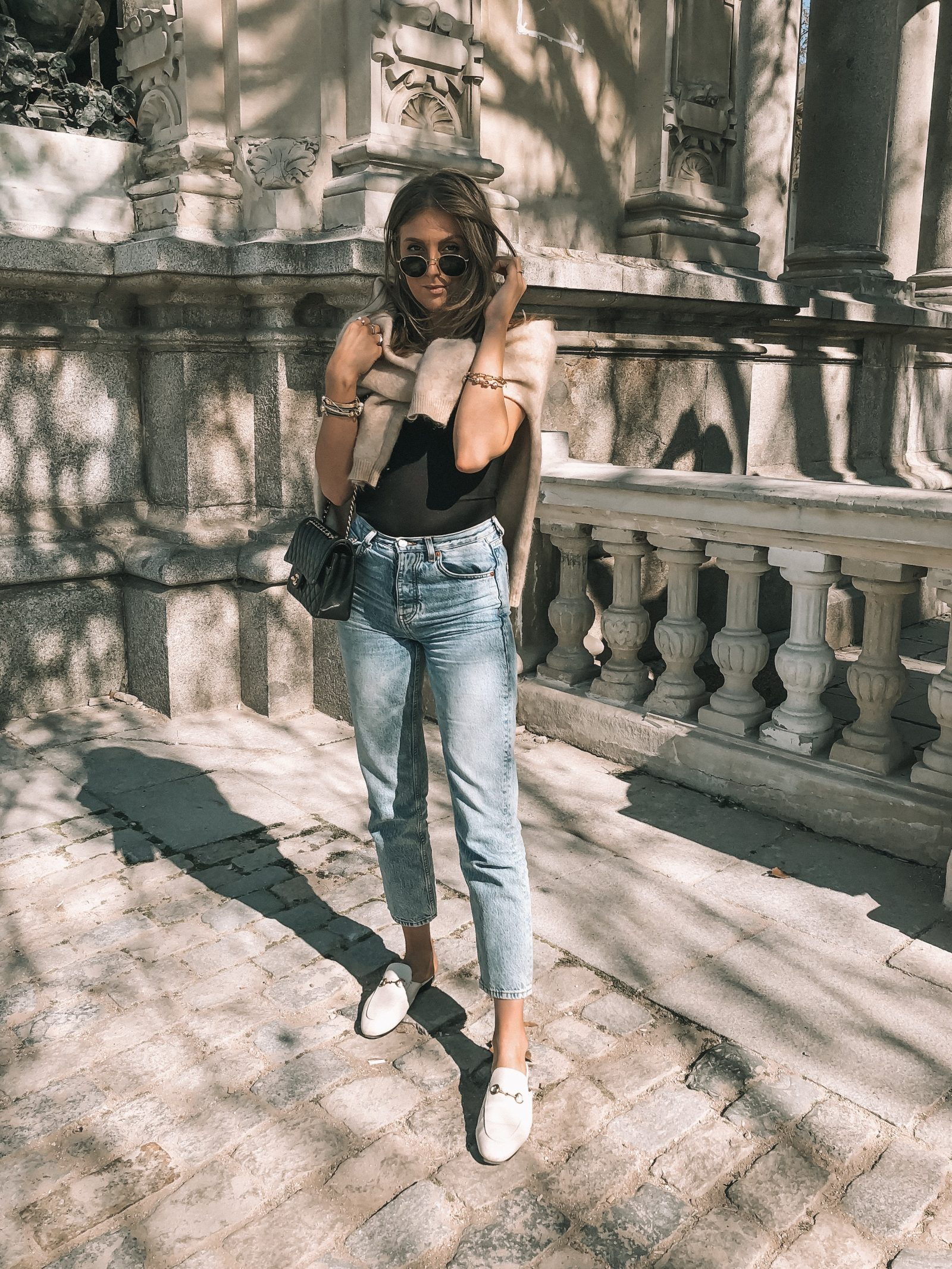 Madrid Outfit Diaries - Topshop Editor Jeans