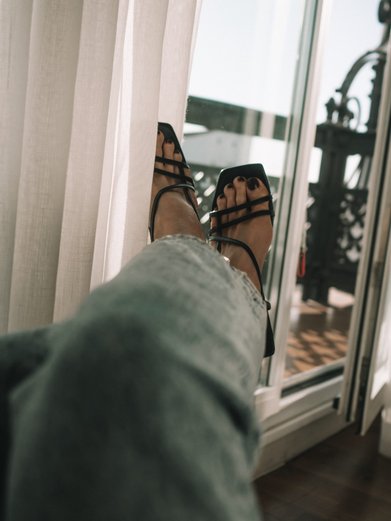 Madrid Outfit Diaries - Topshop Strappy Sandals