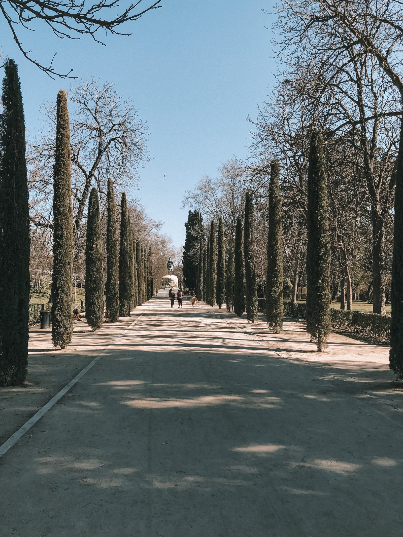 Madrid Travel Anxiety - Madrid Beautiful Park