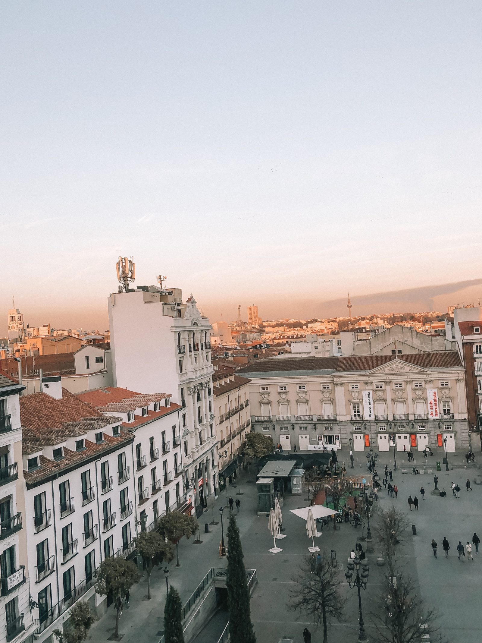 Madrid Travel Anxiety - Madrid Me Hotel View