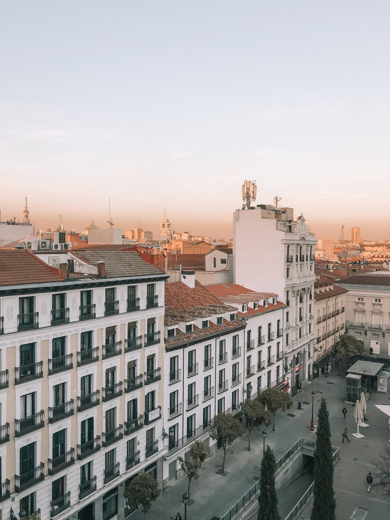 Madrid Travel Anxiety - Me Hotel Madrid View