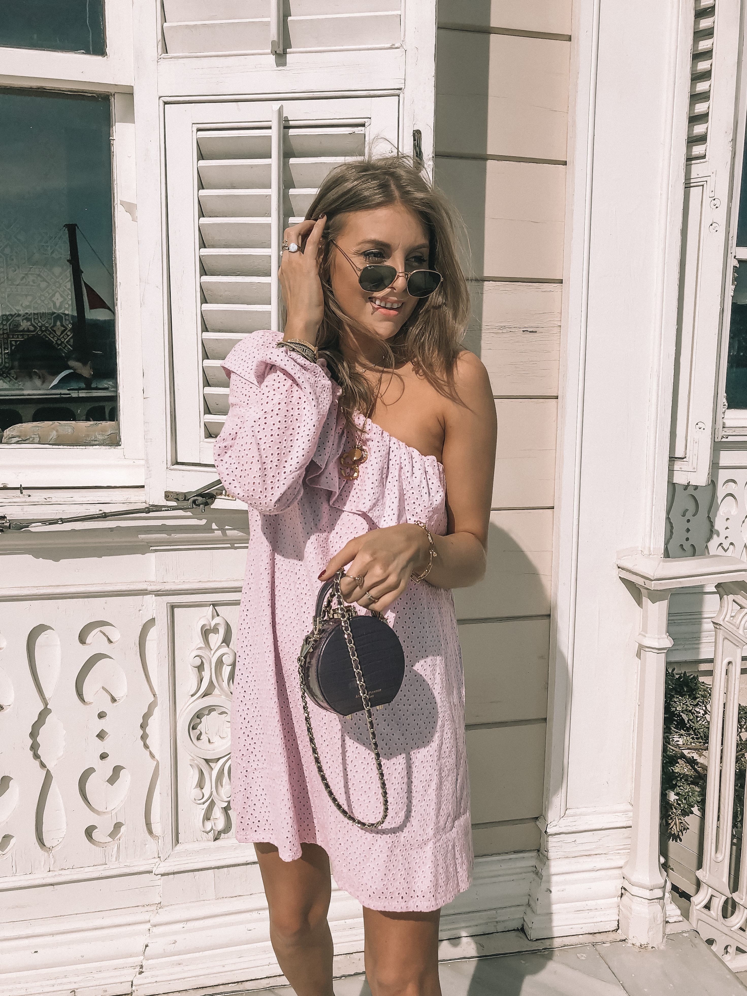 Vero Moda Istanbul - Outfit Diaries - Vero Moda Pink Dress