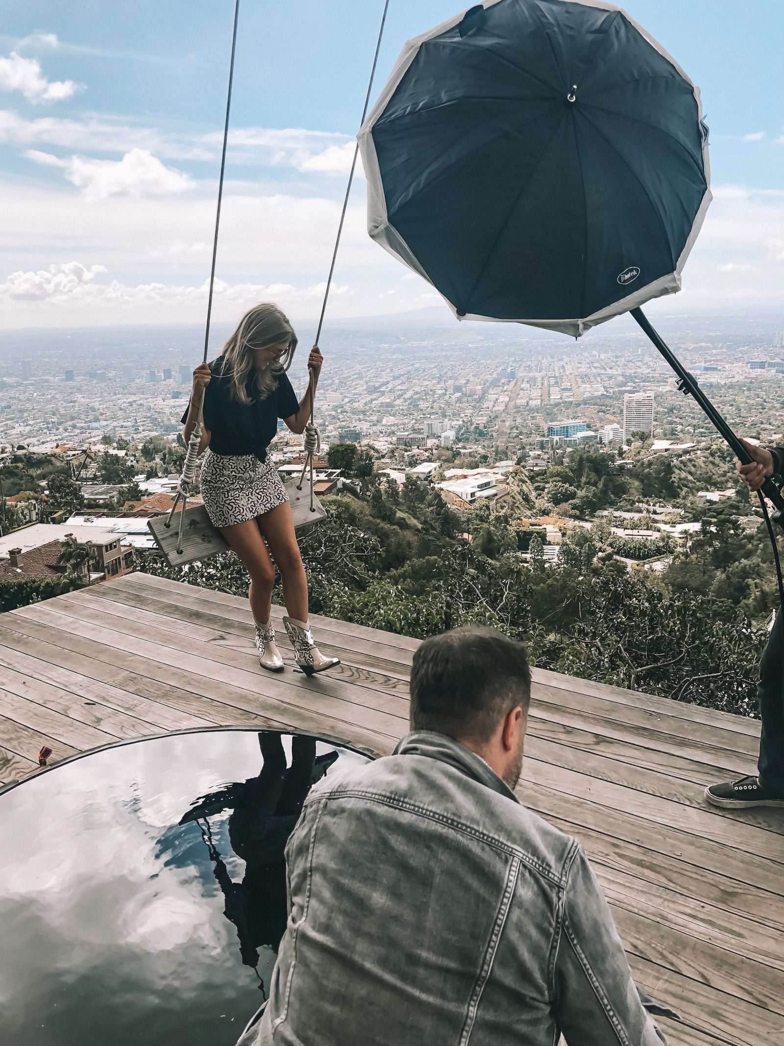 H&M LA Photoshoot for Conscious Exclusive Collection - Spring Outfit Ideas