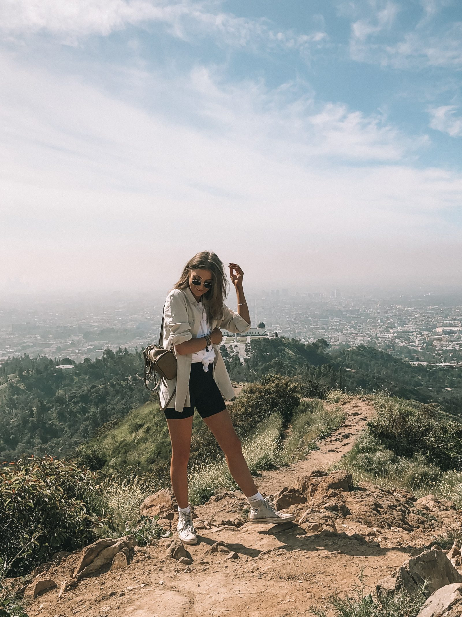Spring Outfit Idea for Hiking in LA