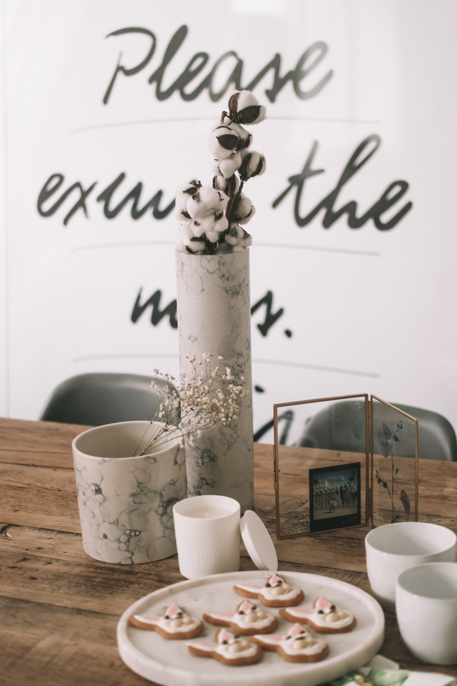 Spring Interiors - Marble Vase from Made.com