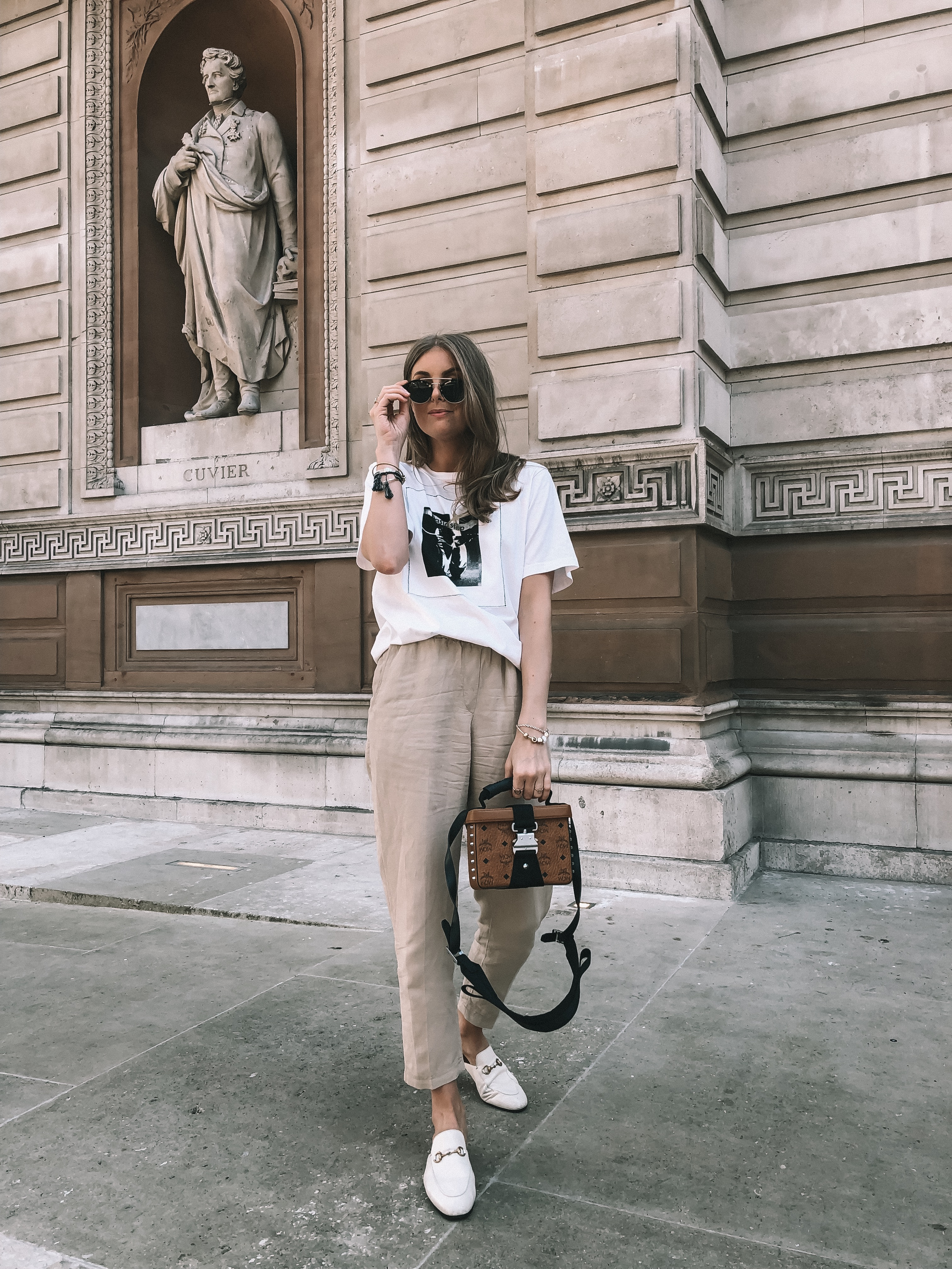 5a22589ed Ways to Wear Gucci Loafers- Gucci Princetown Loafers - Street Style ...