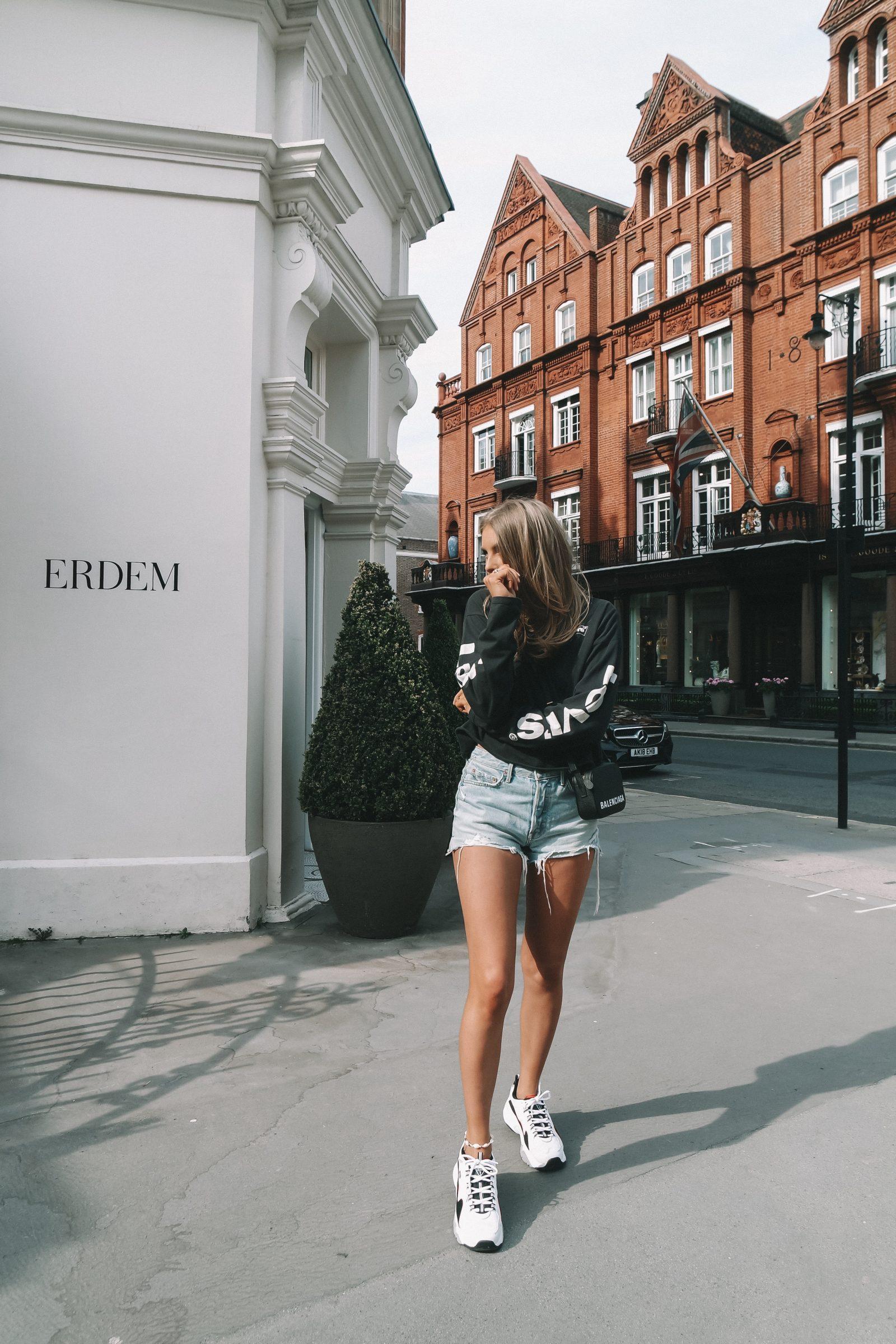 Ways To Wear Denim Shorts - Revolve Helena Denim Shorts