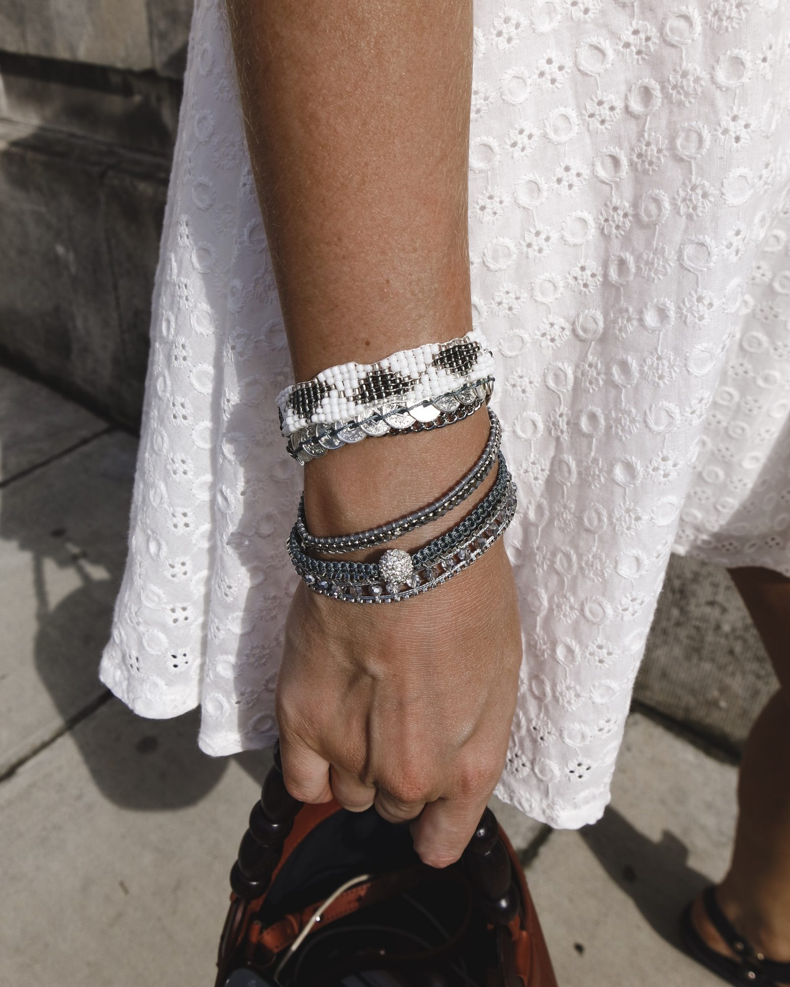 Layering Jewellery - Victoria Emerson Bracelet Stack