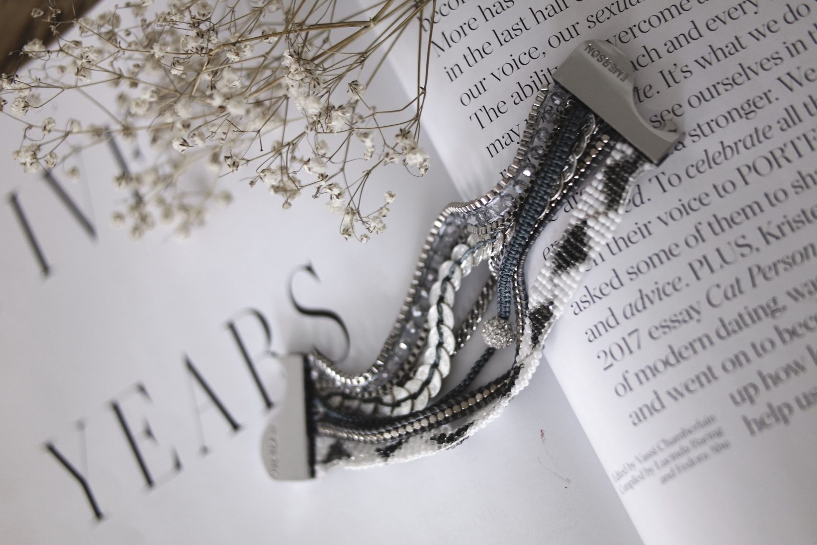 Layering Jewellery - Victoria Emerson - Silver Bracelet