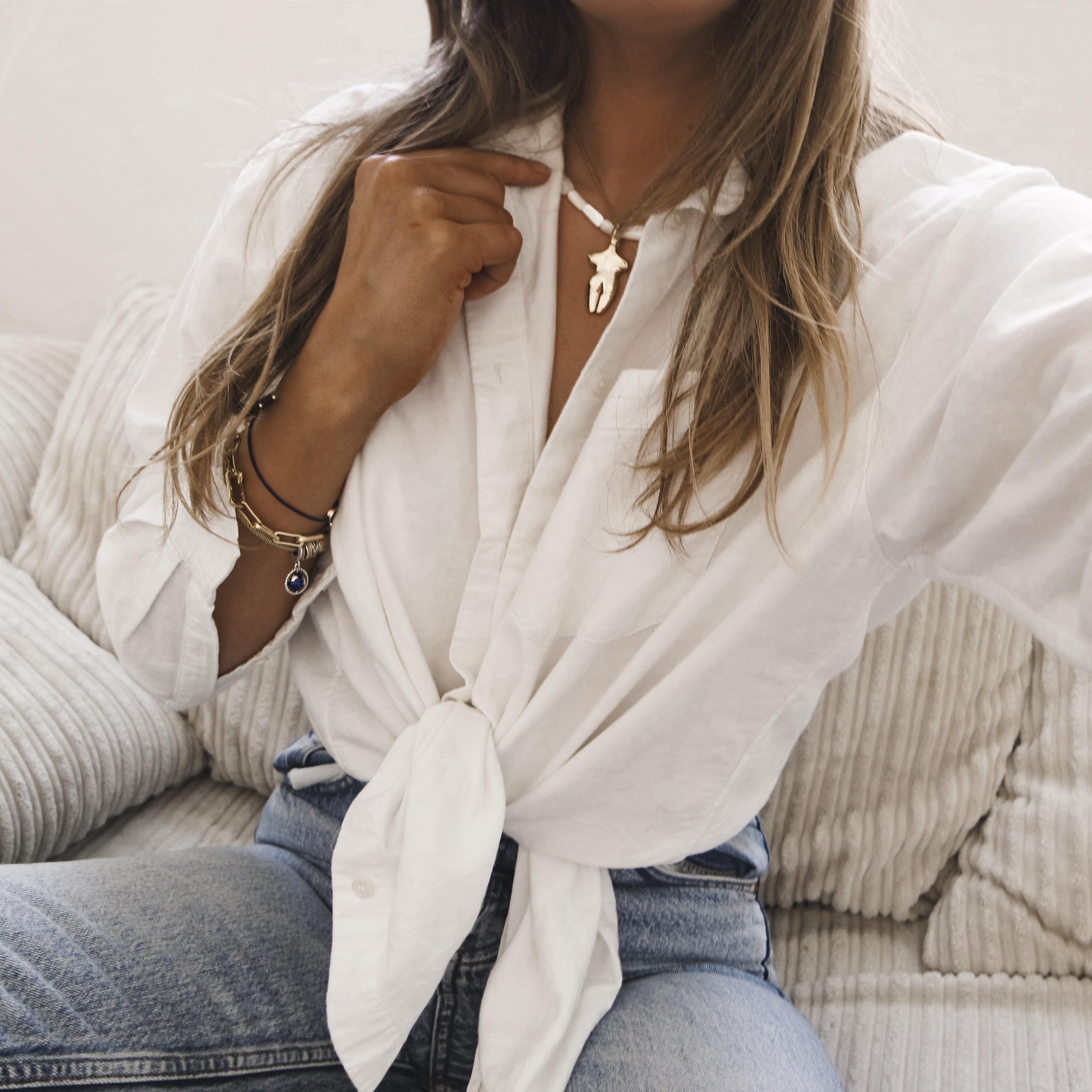 Online Shopping Edit - White Shirt