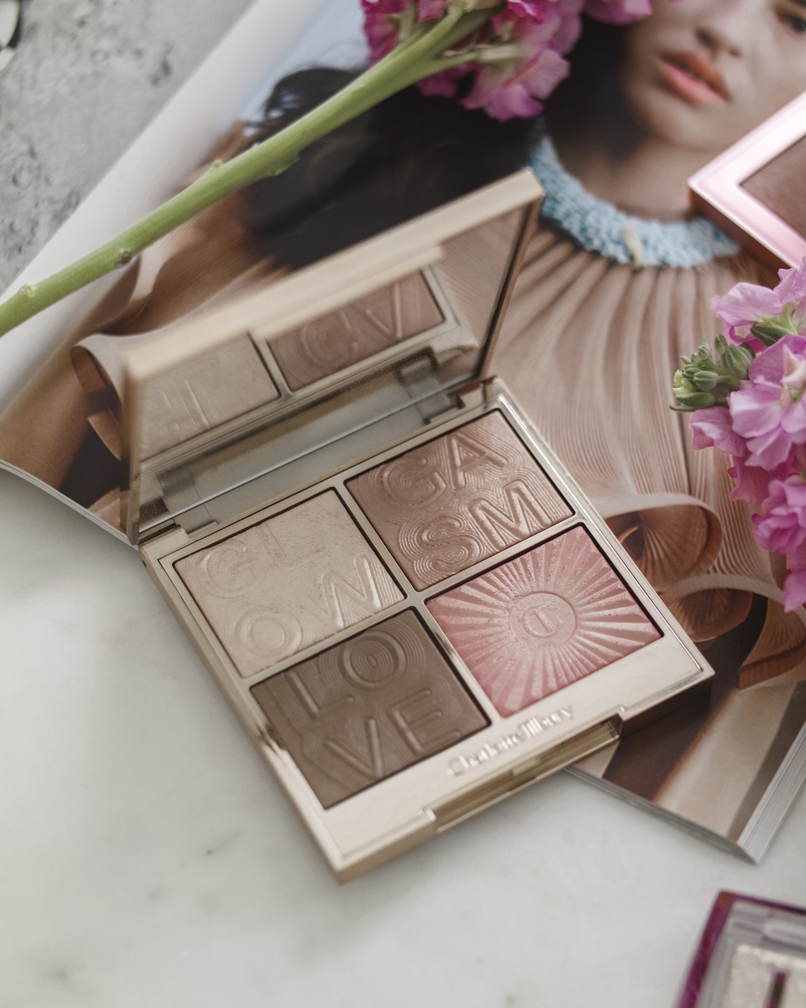 Pretty Highlight Palette - Charlotte Tllbury Facegasm