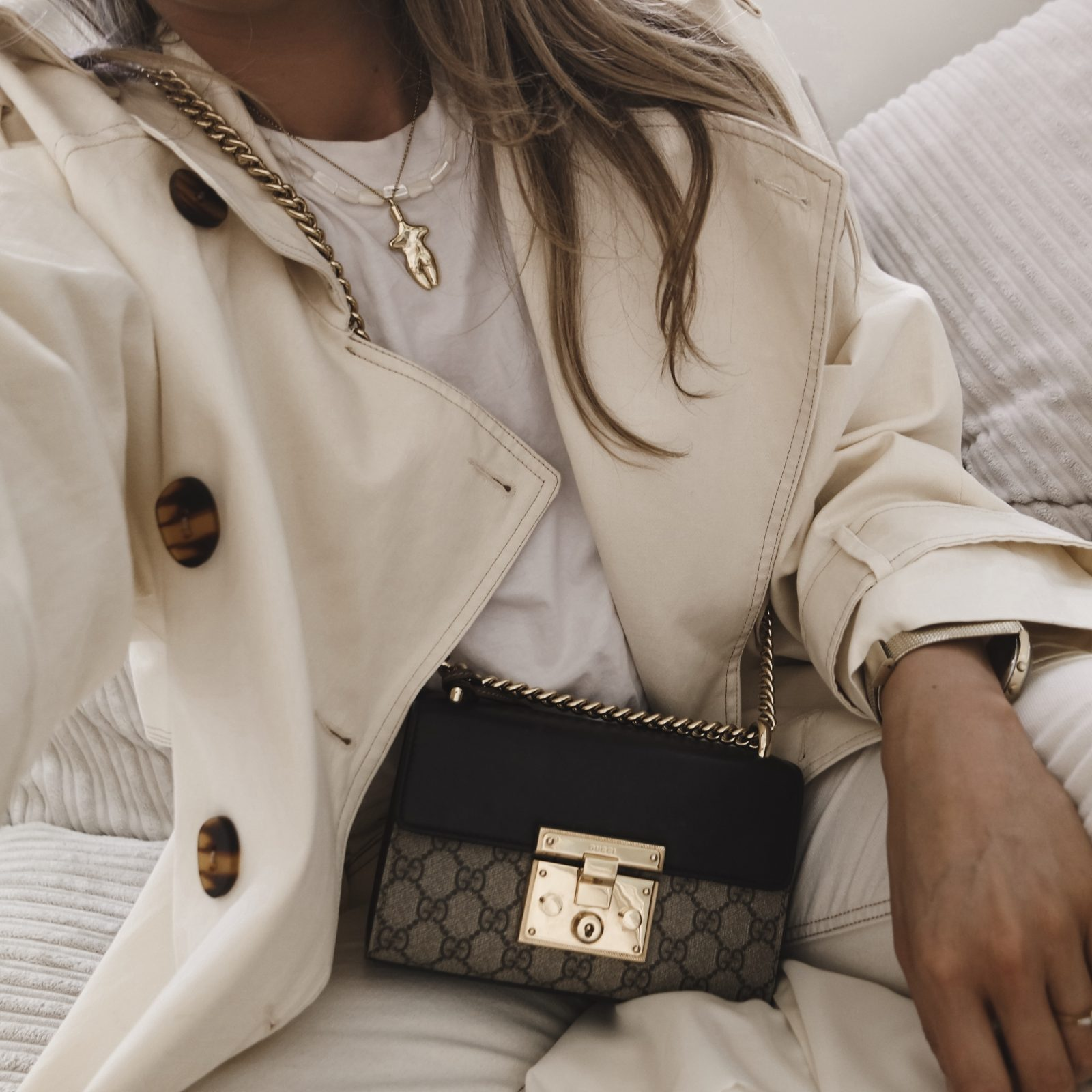 Ways To Wear A Trench Coat - Asos Cream Trench Coat