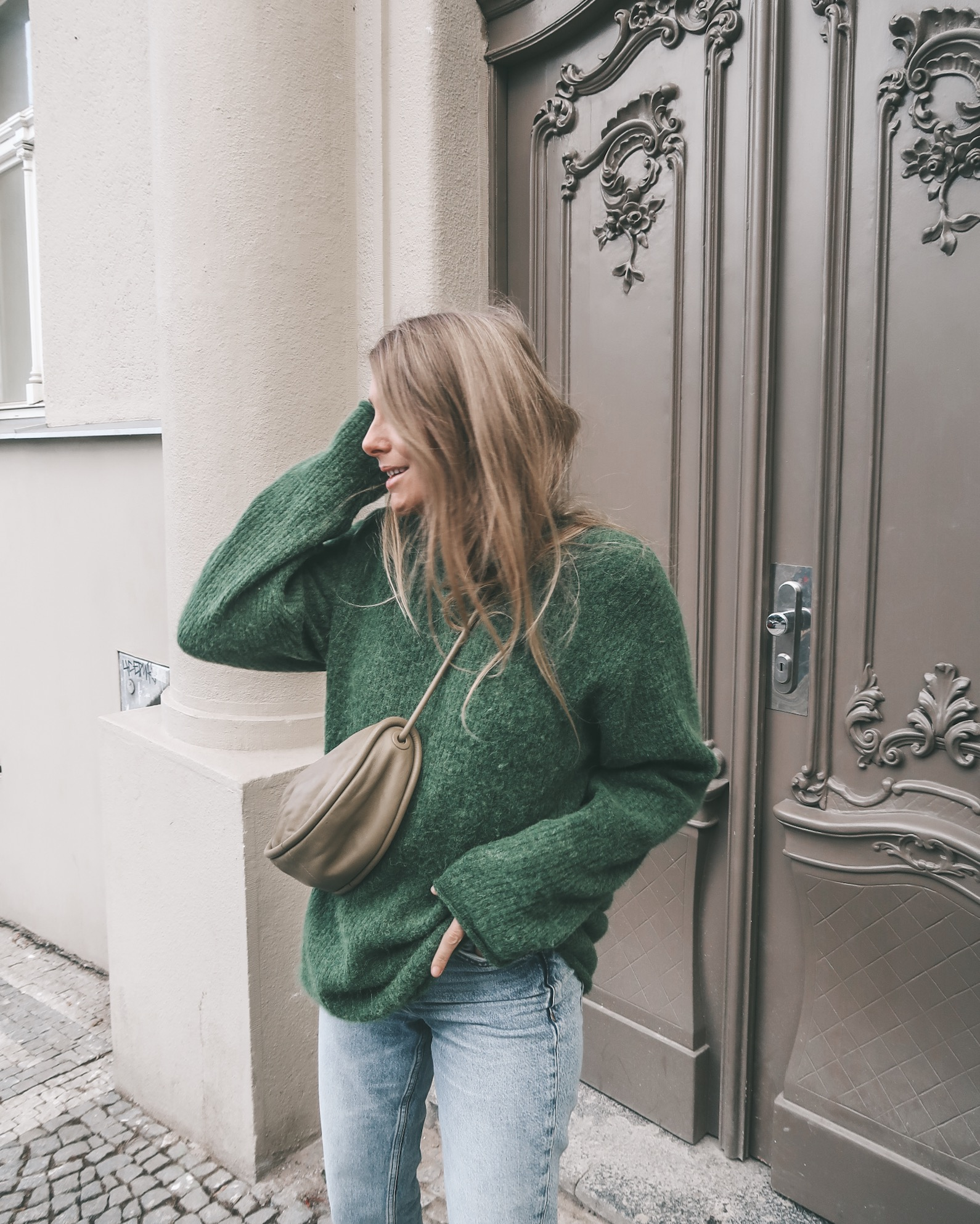 Prague - Arket Green Jumper