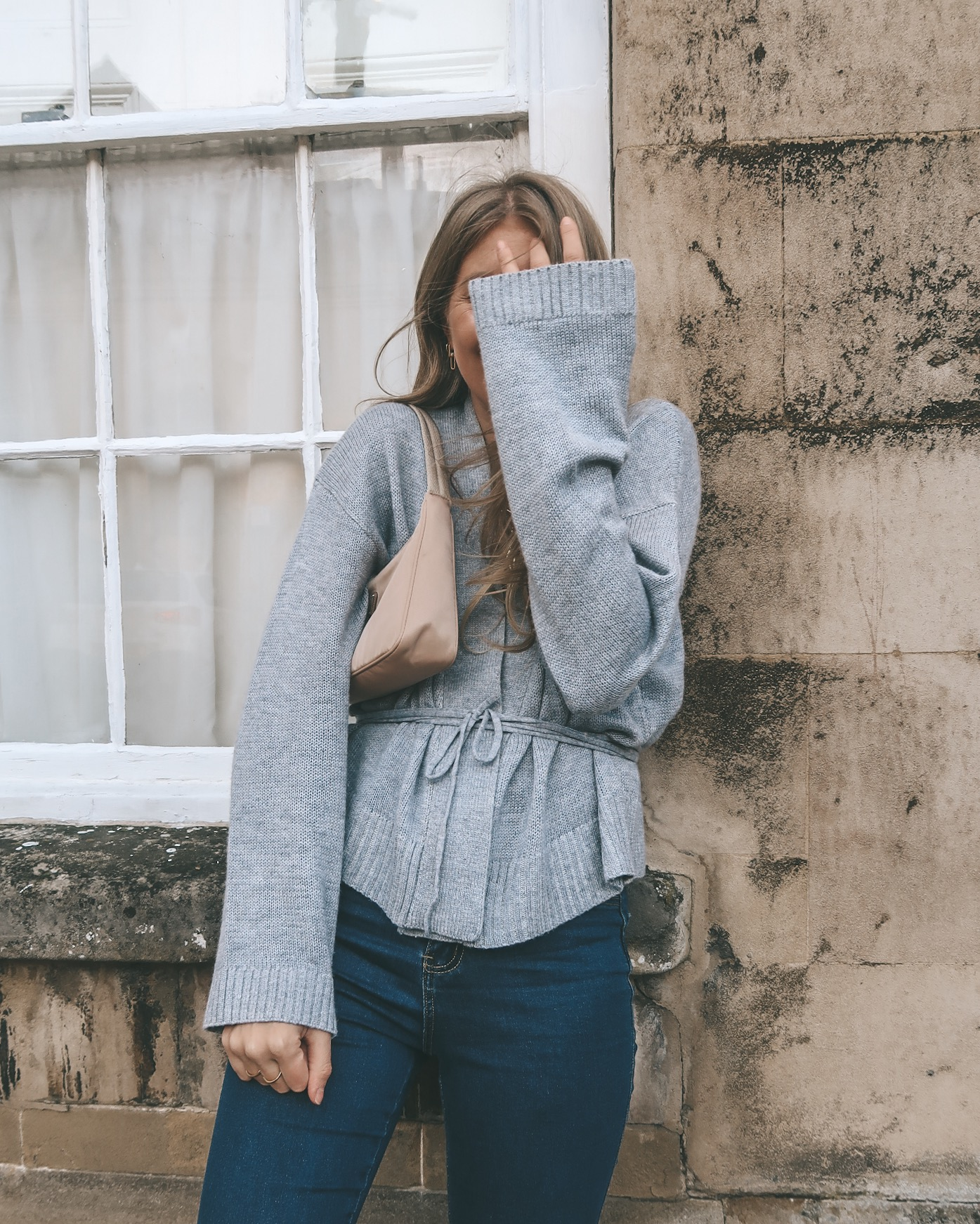 Grey-Wrap-Cardigan