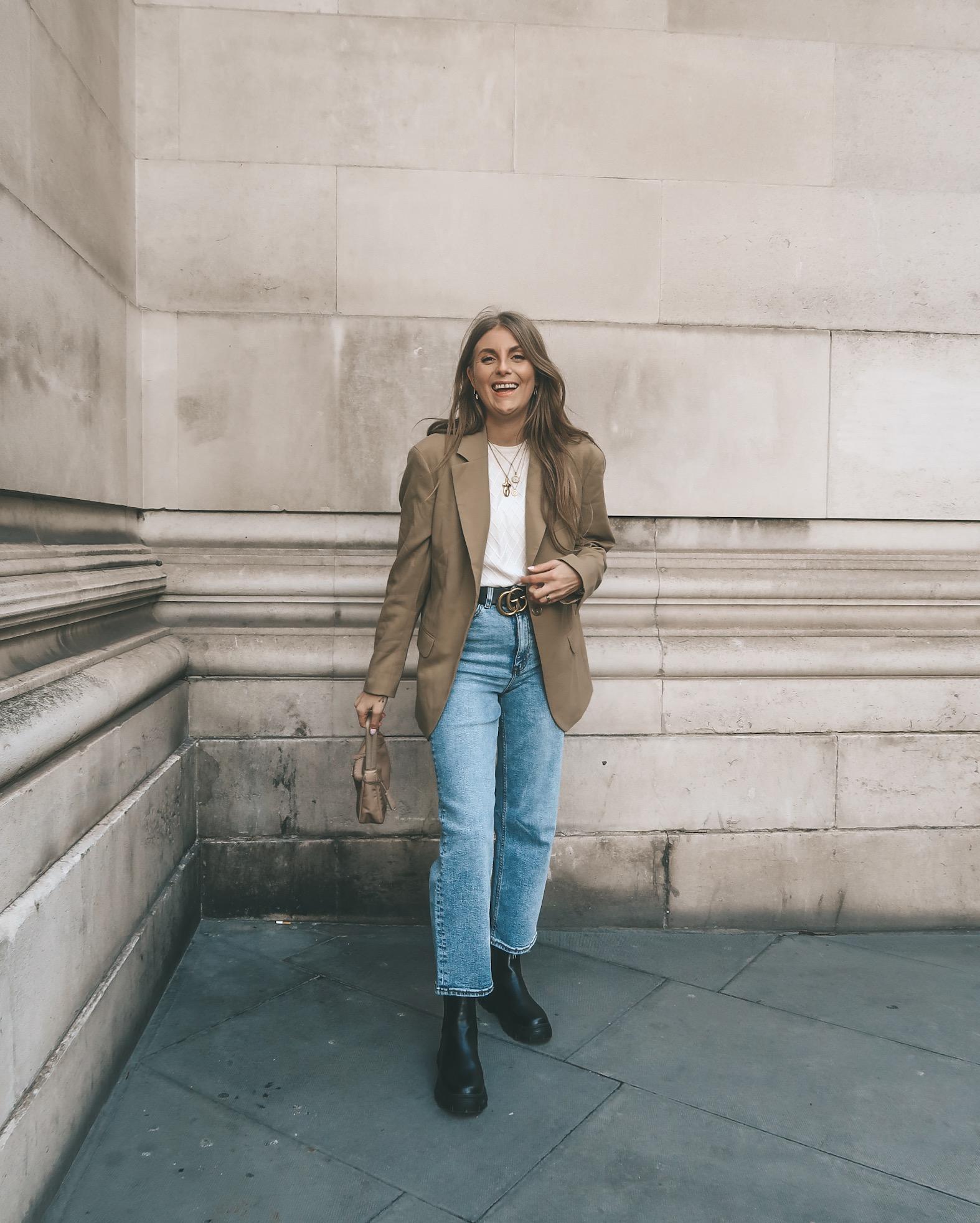 Arket Blazer - London Street Style