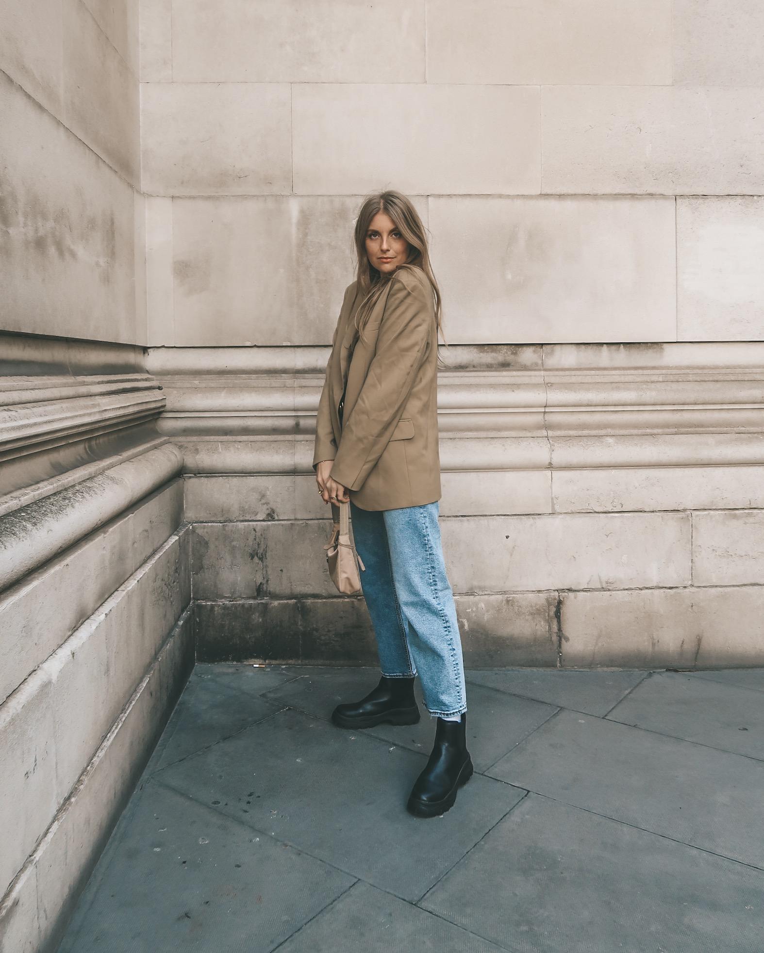 Arket Blazer - UK Street Style