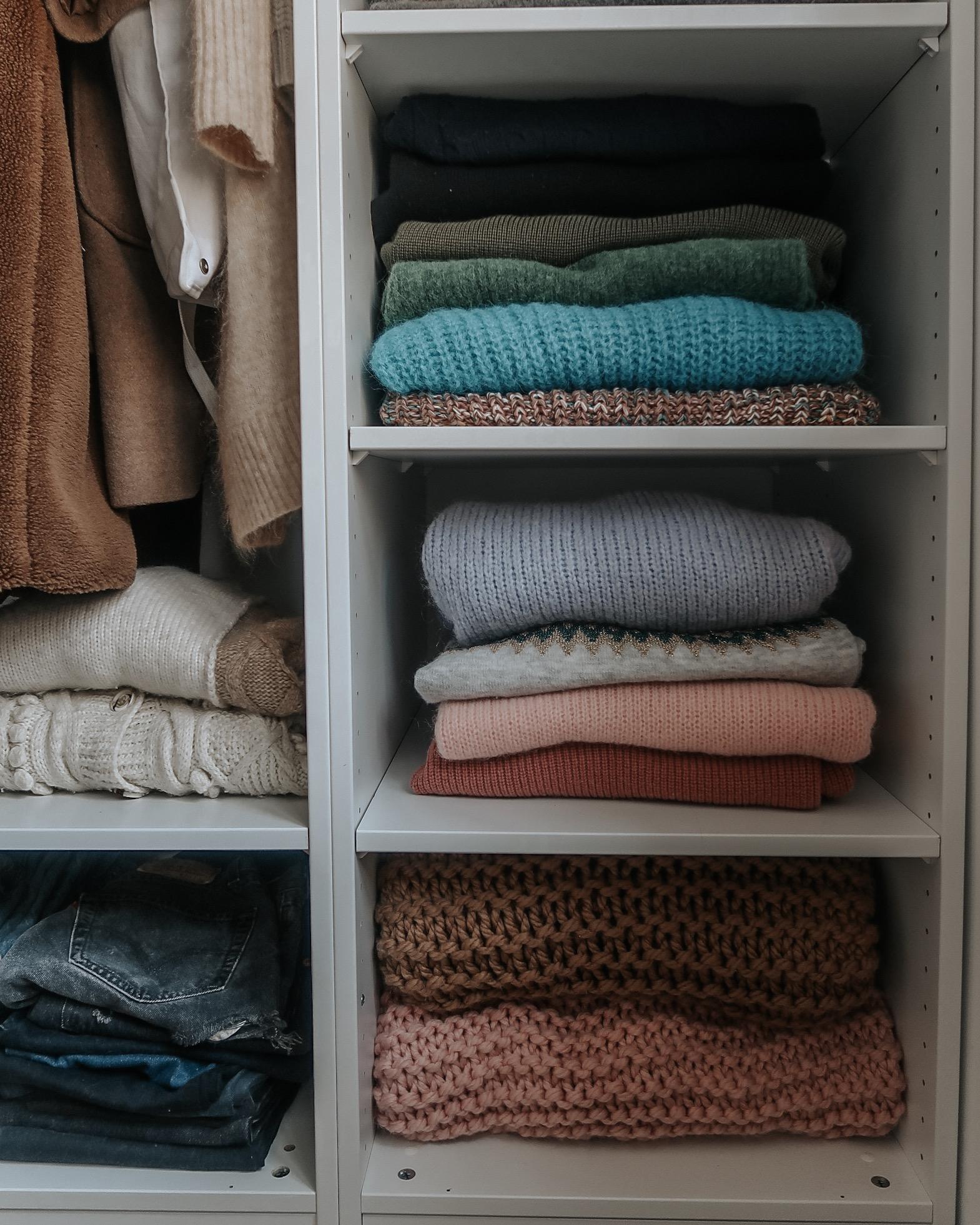 Ikea Pax Wardrobe - Knitwear Storage