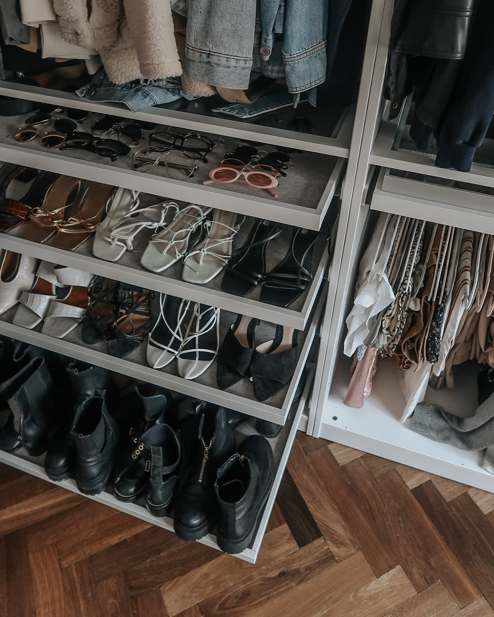 Ikea Pax Wardrobe - Shoe Storage