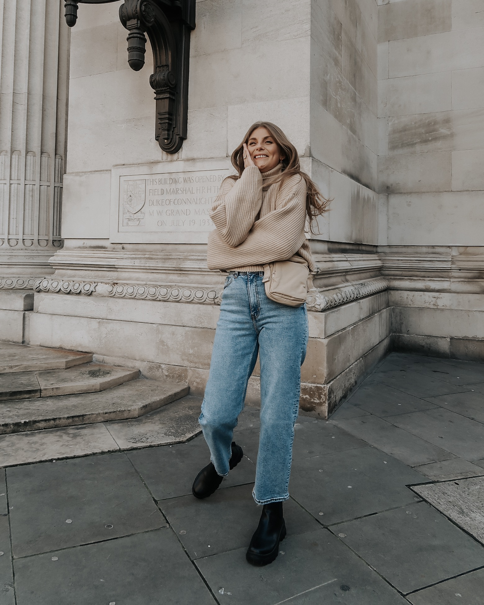 Monki Jeans Review - Winter Outfit Ideas