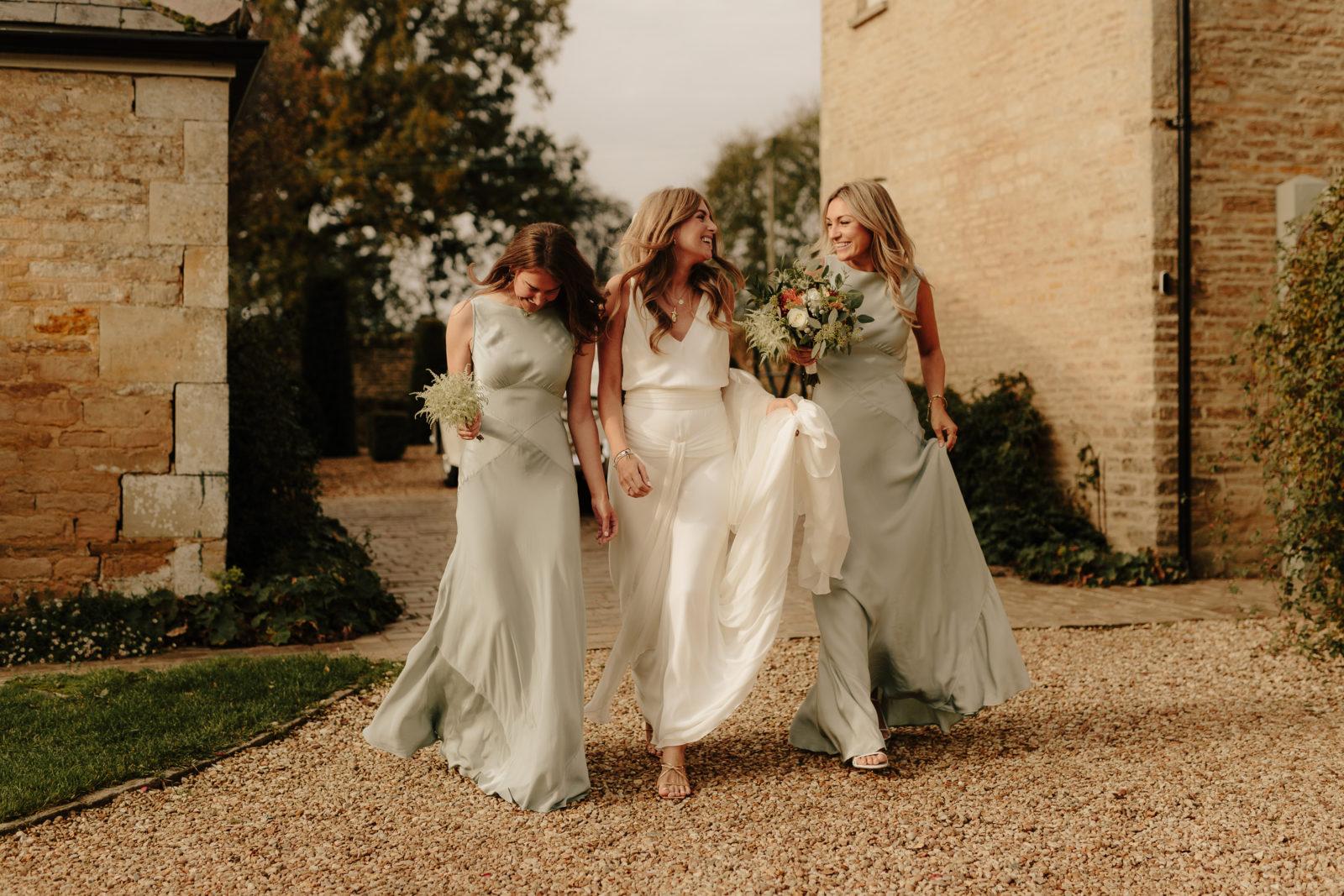 Sinead Crowe Wedding Shoes - Delphine Manivet Dress