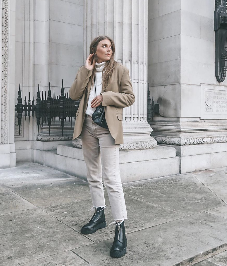Winter Outfit Ideas - Neutral Winter Outfit