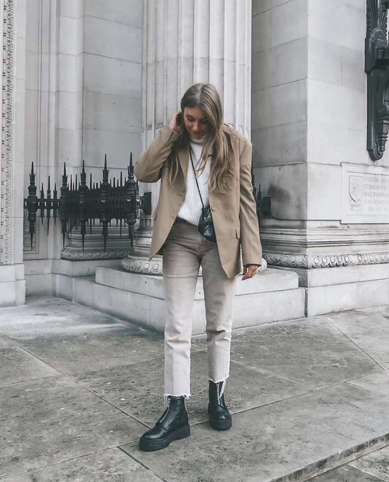 Winter Outfit Ideas - Topshop Straight Leg Jeans