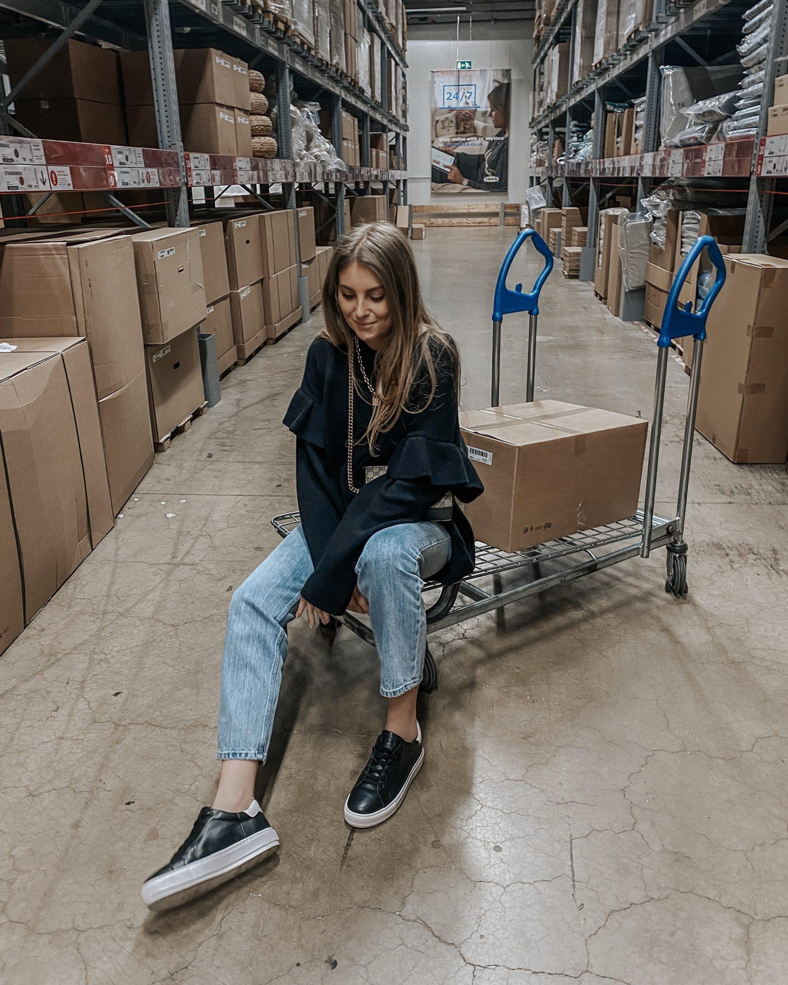Arket Black Jumper Dress - Sinead Crowe in Ikea