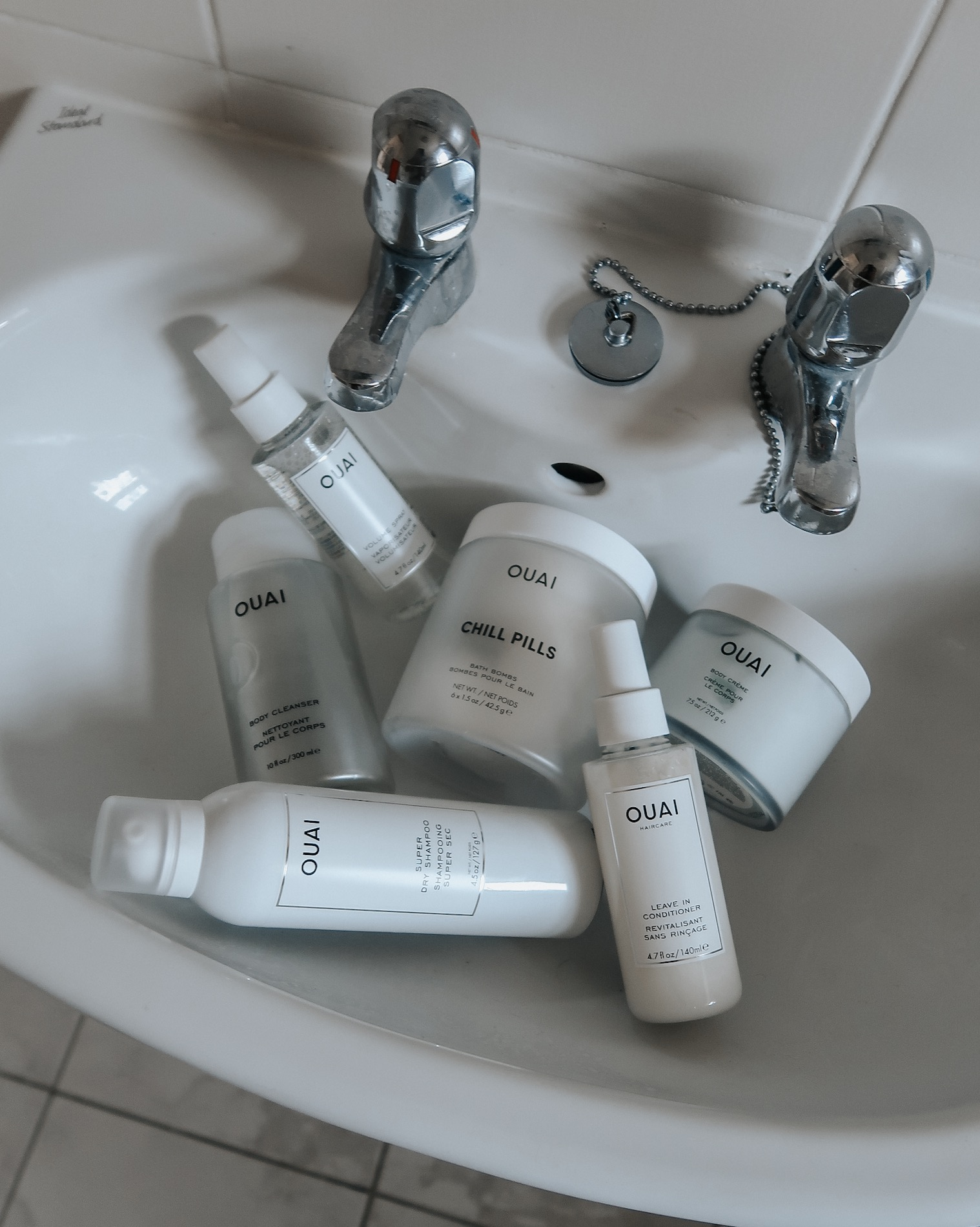 Home Pamper - The Ouai Bodycare Products