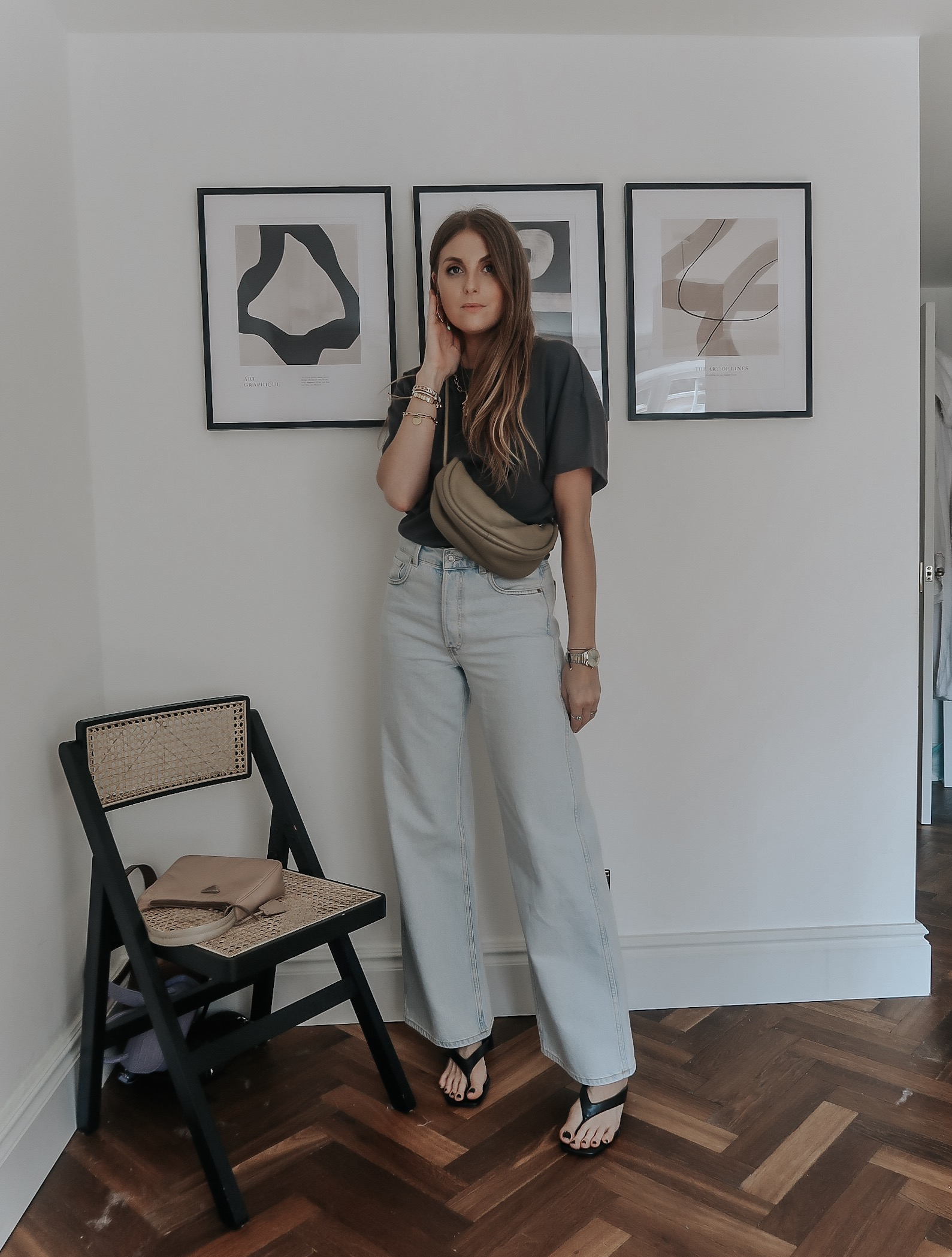 Styling Flared Jeans from & Other Stories - Spring Outfit Ideas