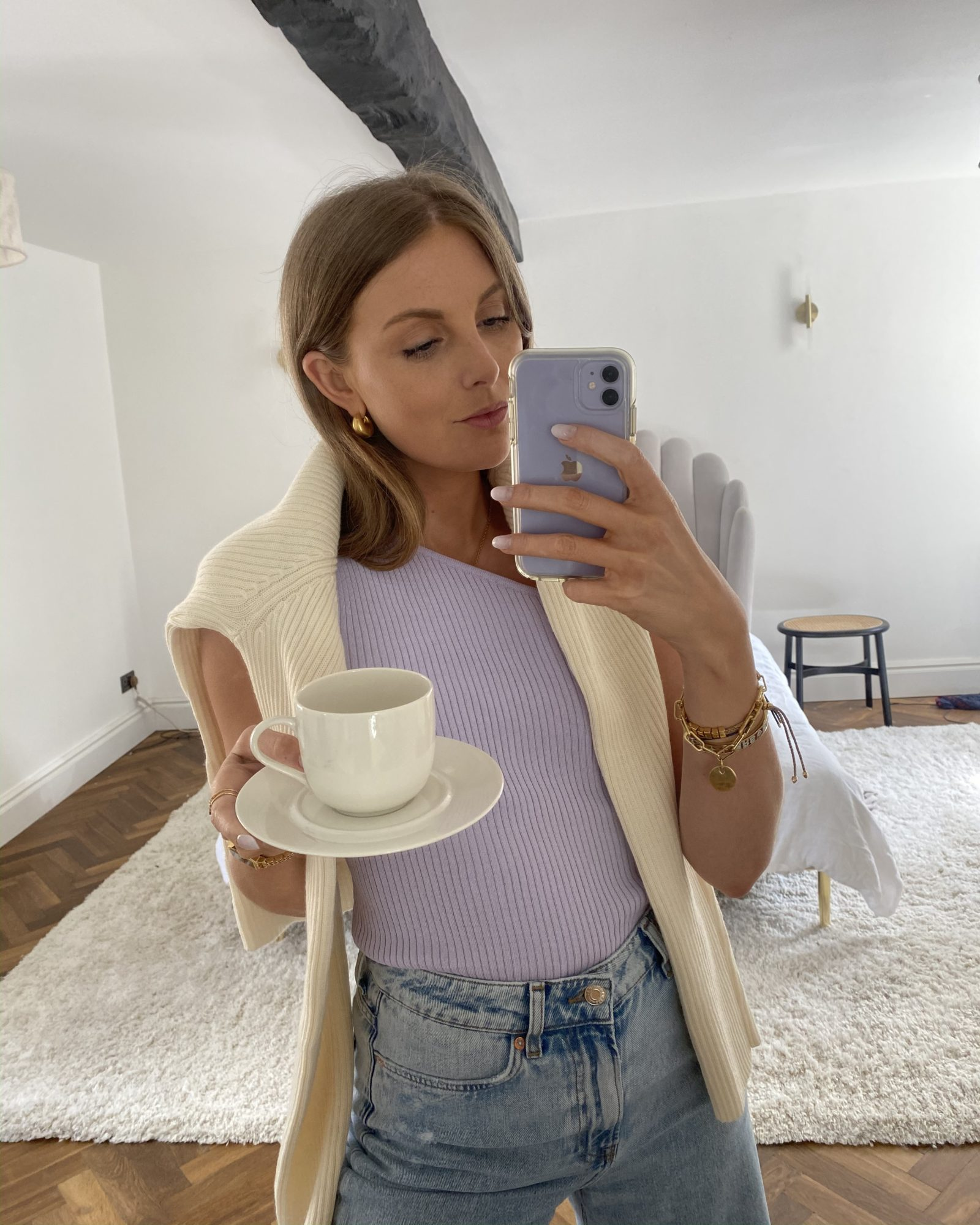 Shopping Edit / Mango Lilac Top